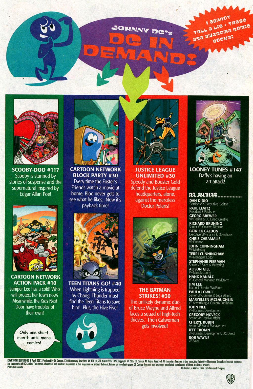 Read online Krypto the Superdog comic -  Issue #6 - 22
