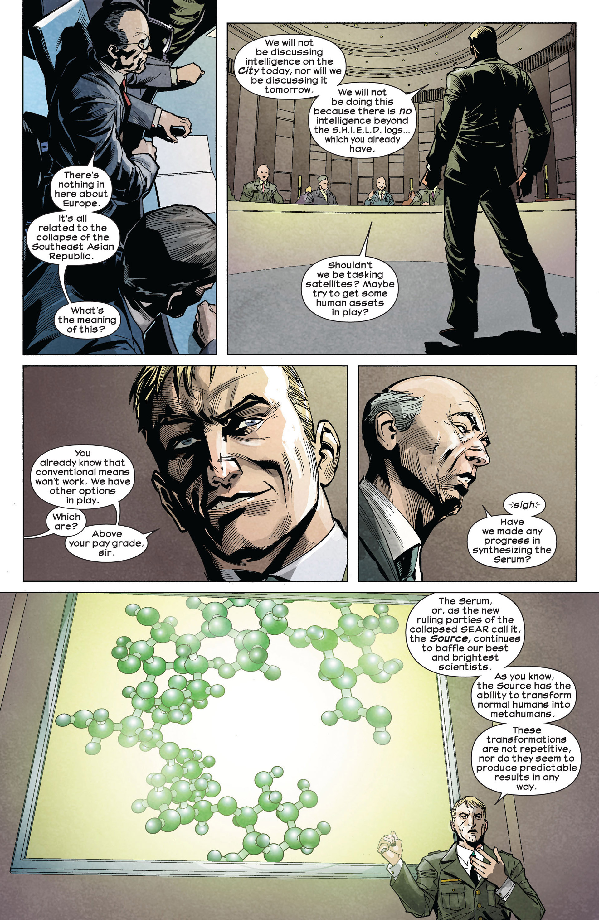 Read online Ultimate Comics Ultimates comic -  Issue #5 - 11