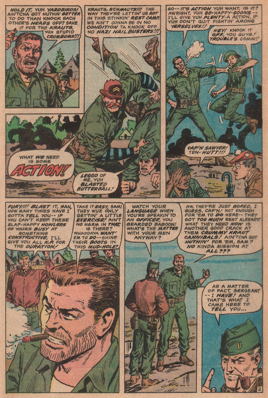 Read online Sgt. Fury comic -  Issue #77 - 4