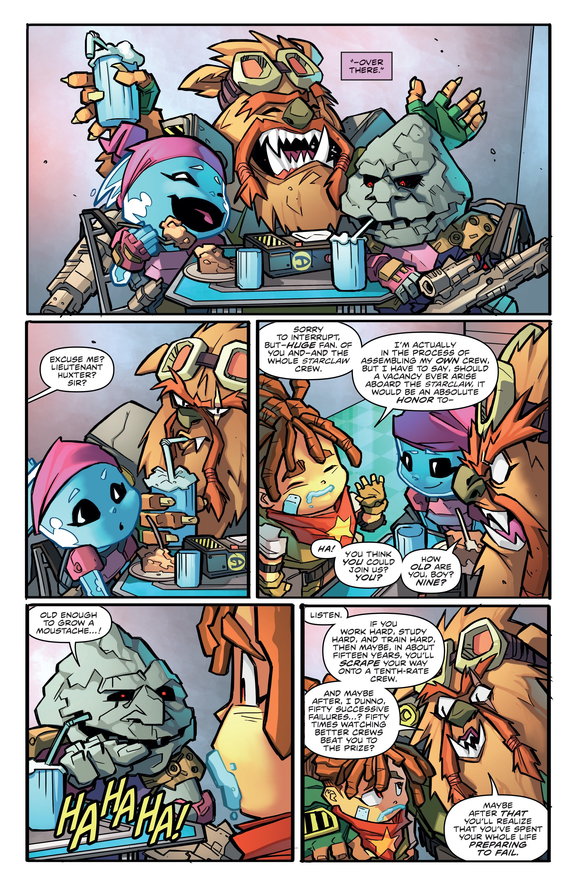 Read online Starcadia Quest comic -  Issue #1 - 13