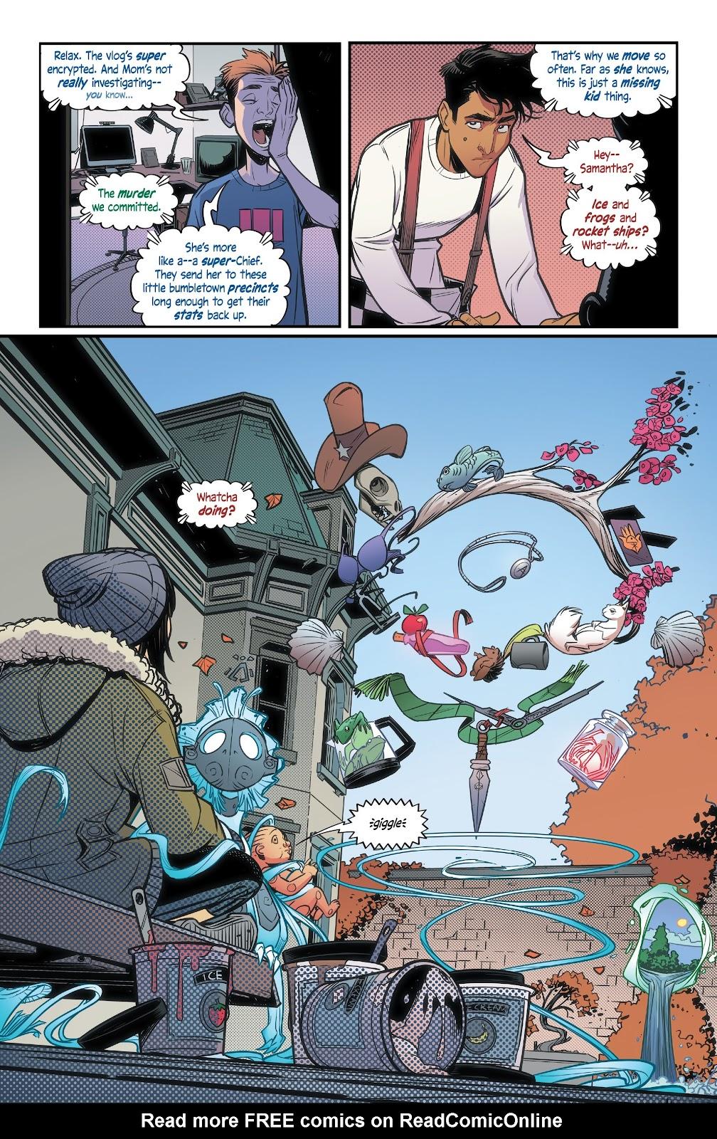 Read online Alienated comic -  Issue #3 - 6