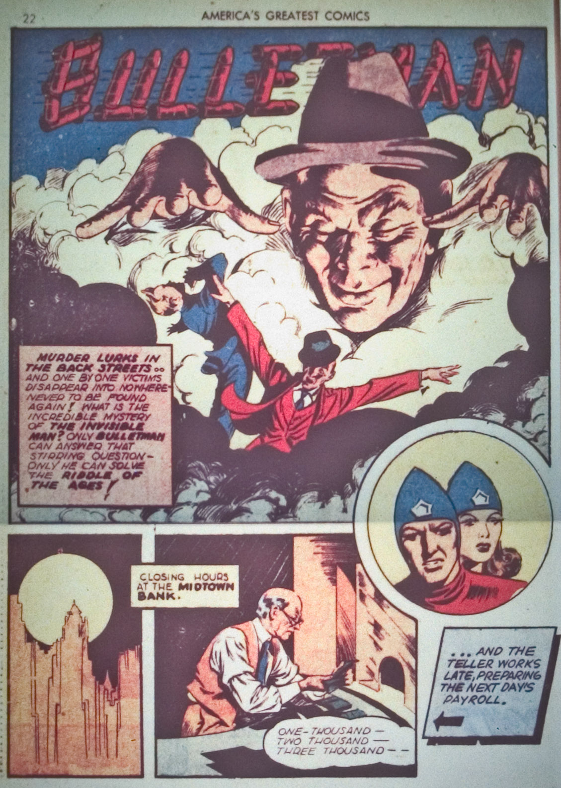 Read online America's Greatest Comics comic -  Issue #1 - 25