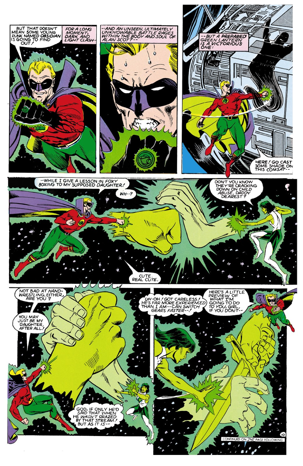 Infinity Inc. (1984) issue 9 - Page 10