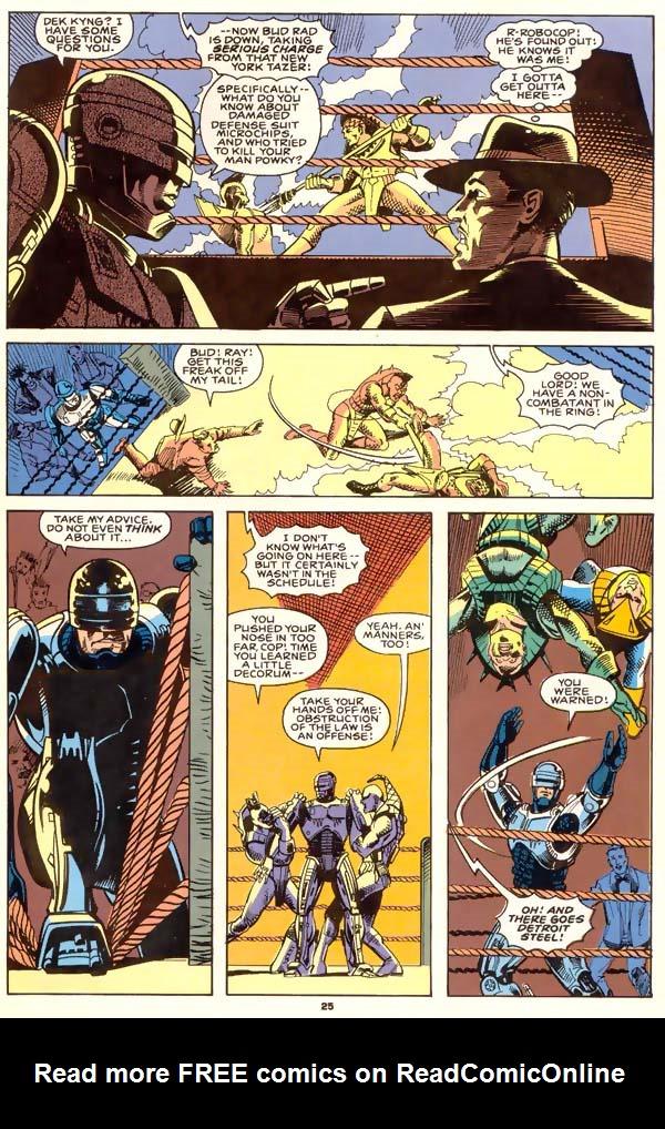 Read online Robocop (1990) comic -  Issue #1 - 19