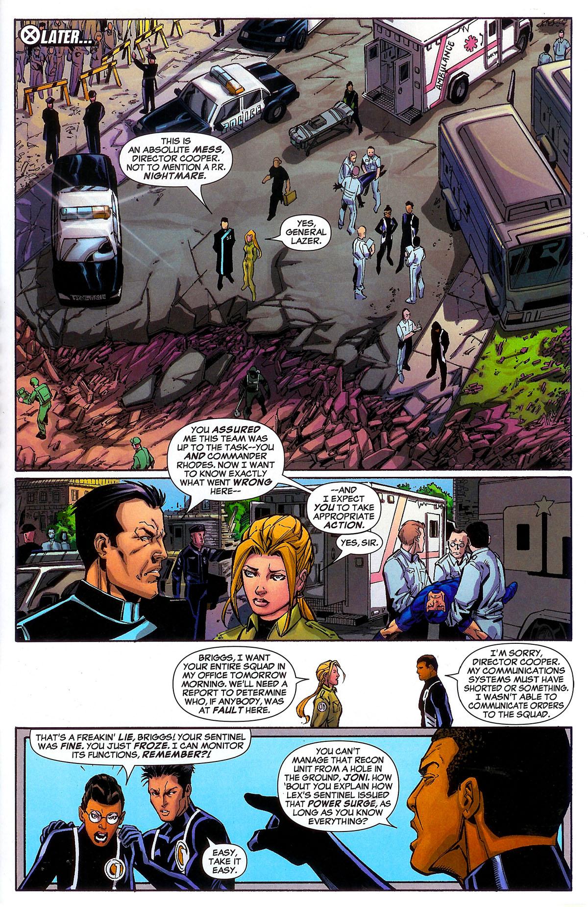 Read online Sentinel Squad O*N*E comic -  Issue #2 - 23
