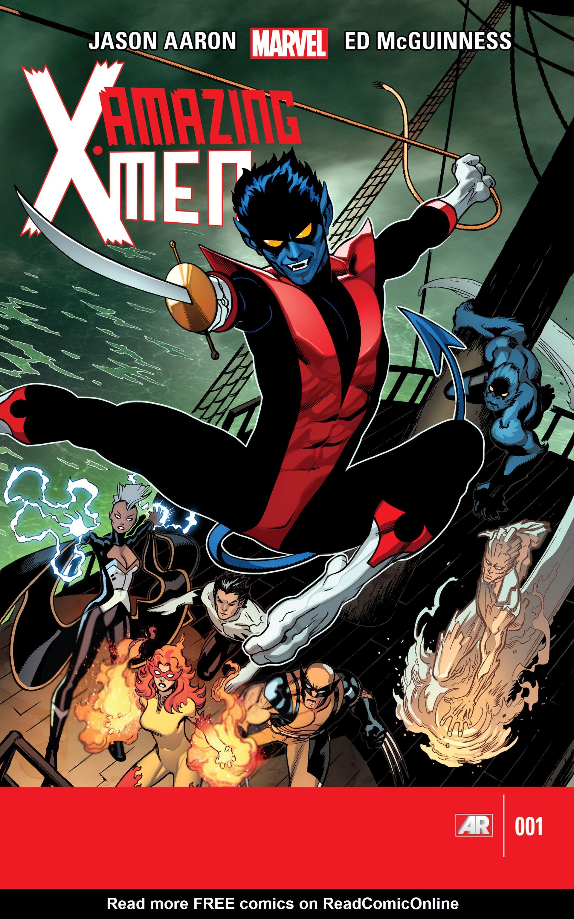 Read online Amazing X-Men (2014) comic -  Issue #1 - 1
