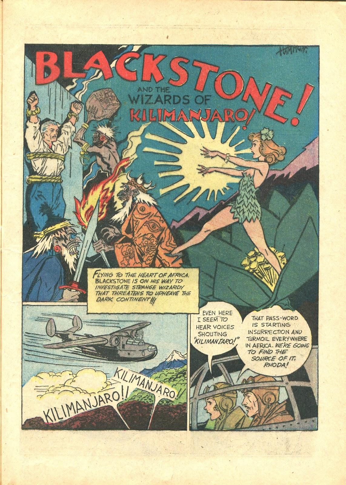 Read online Super-Magician Comics comic -  Issue #21 - 17