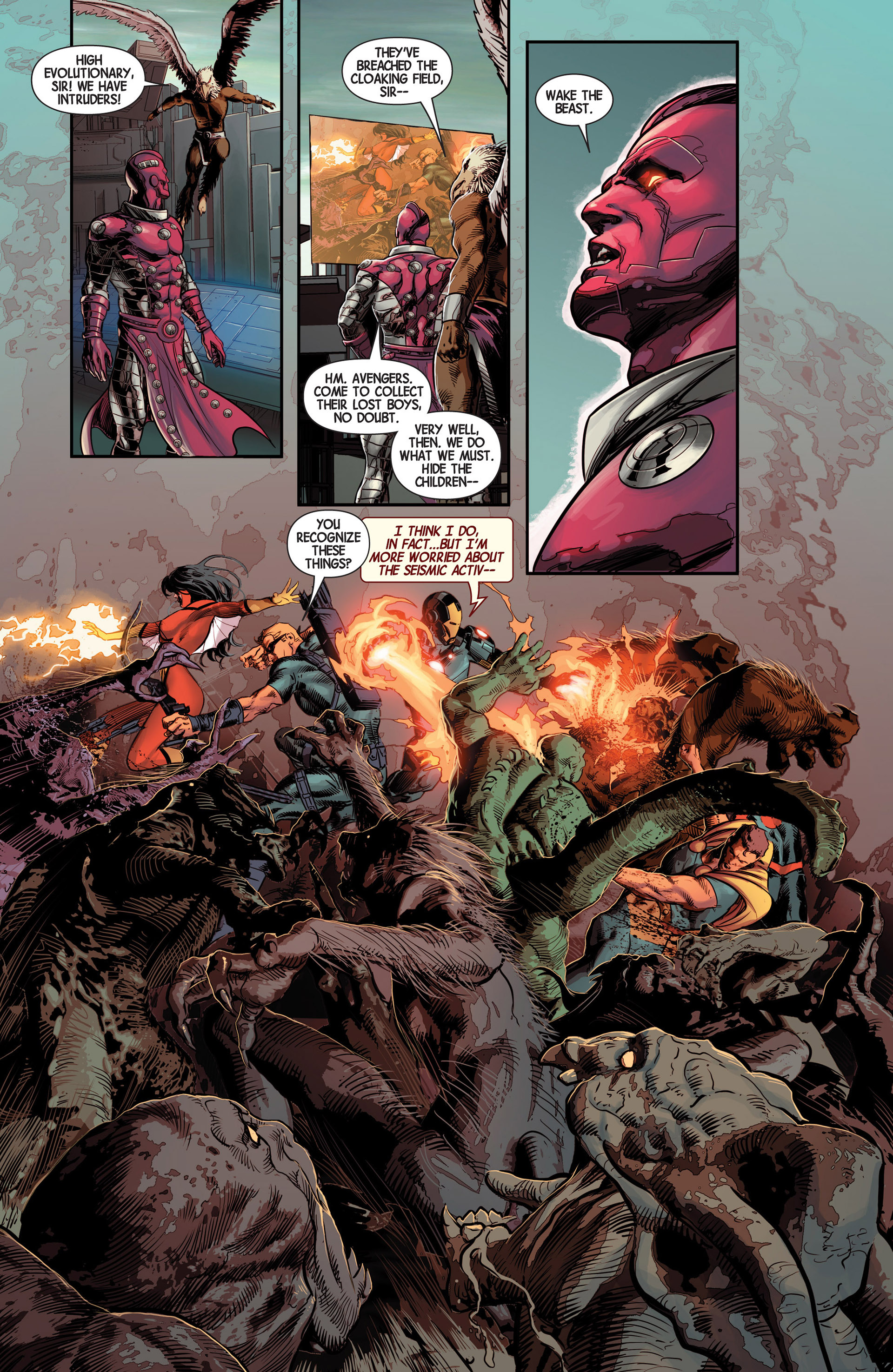 Read online Avengers (2013) comic -  Issue #13 - 13