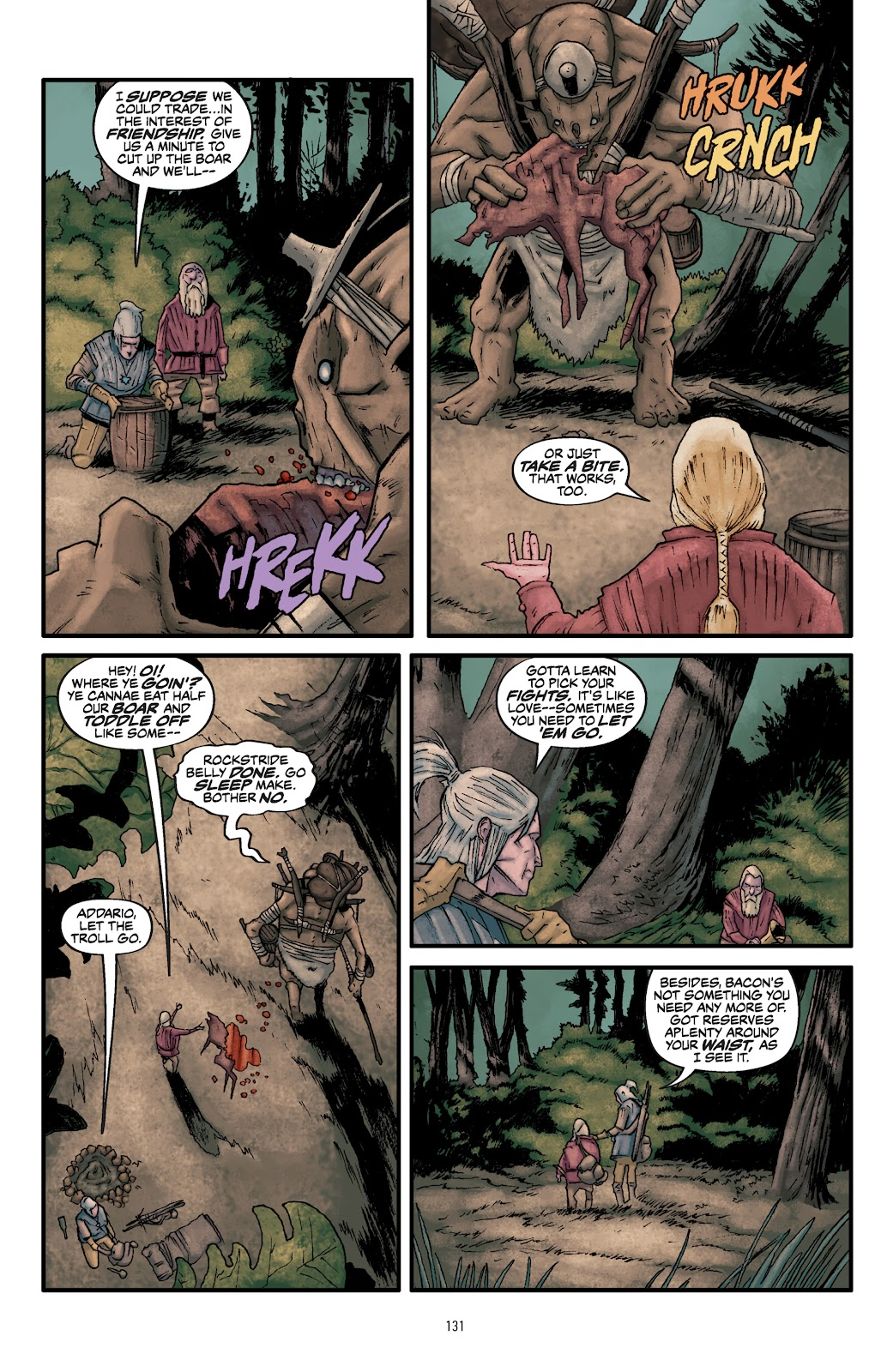 Read online The Witcher Omnibus comic -  Issue # TPB (Part 2) - 33