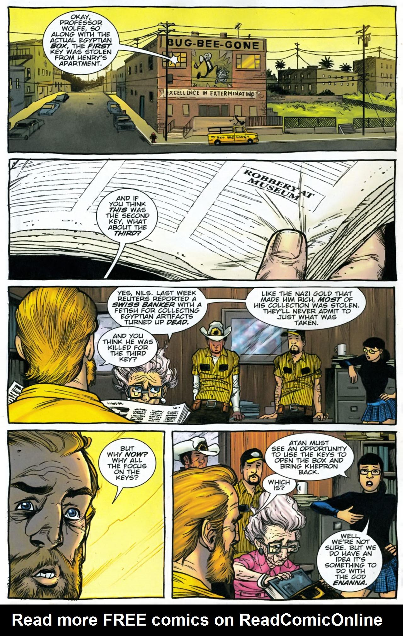 Read online The Exterminators comic -  Issue #28 - 7