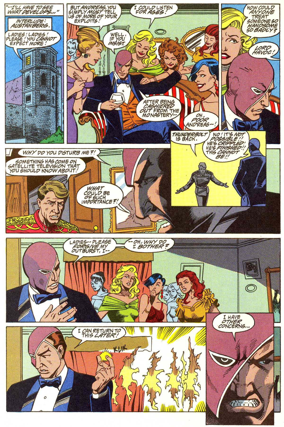 Read online Peter Cannon--Thunderbolt (1992) comic -  Issue #5 - 21