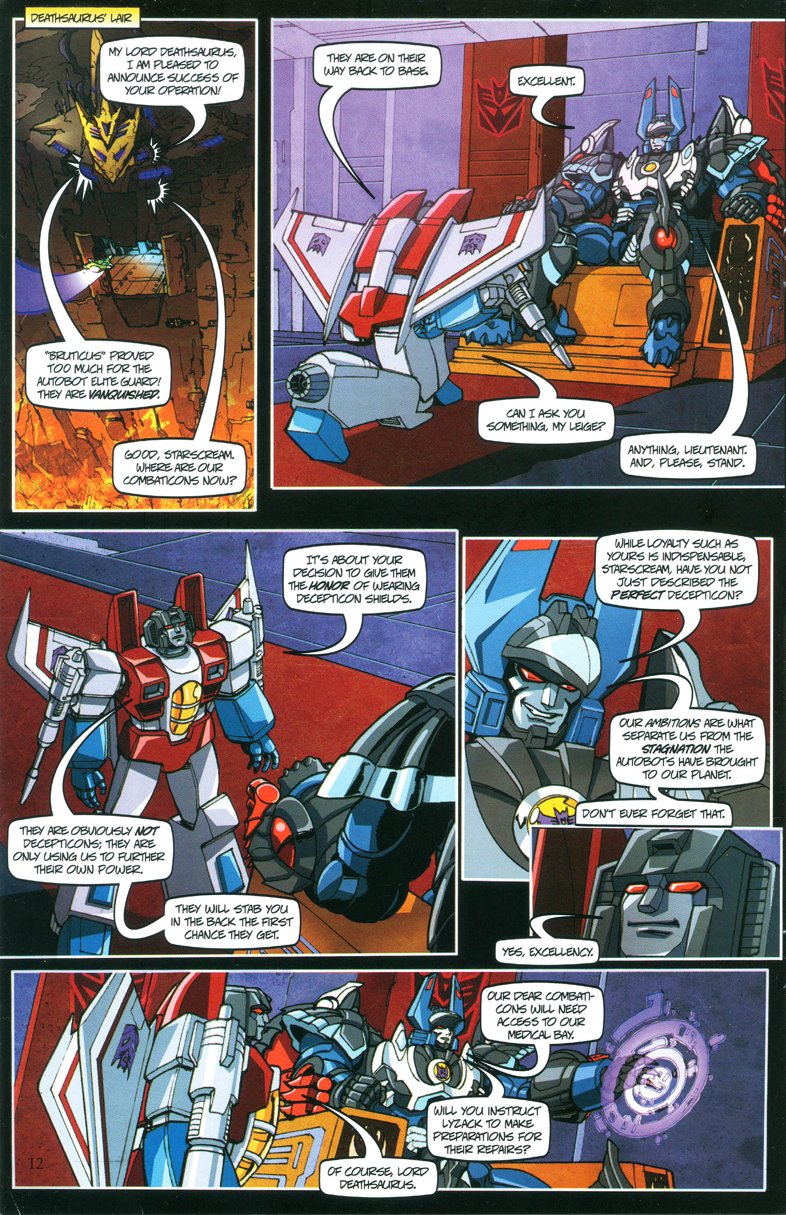 Read online Transformers: Collectors' Club comic -  Issue #37 - 12