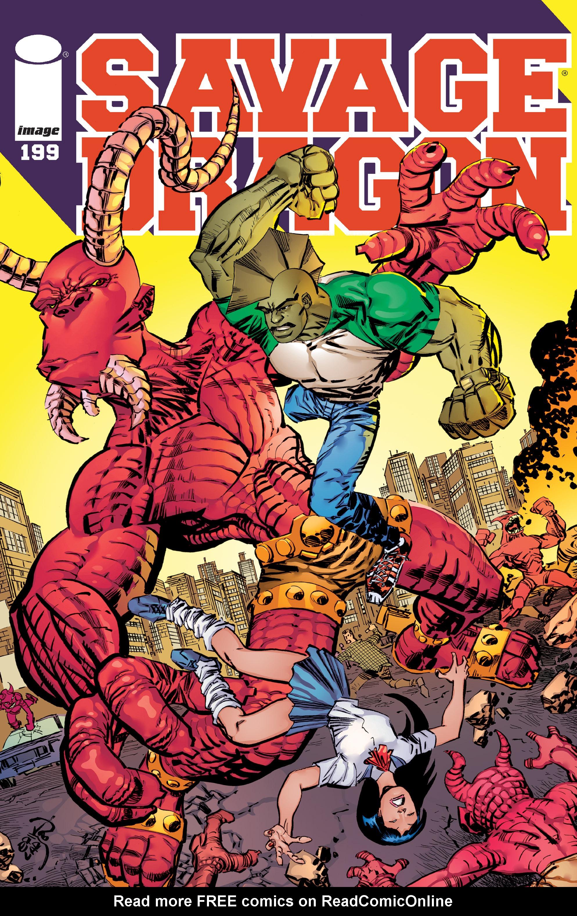 The Savage Dragon (1993) 199 Page 1