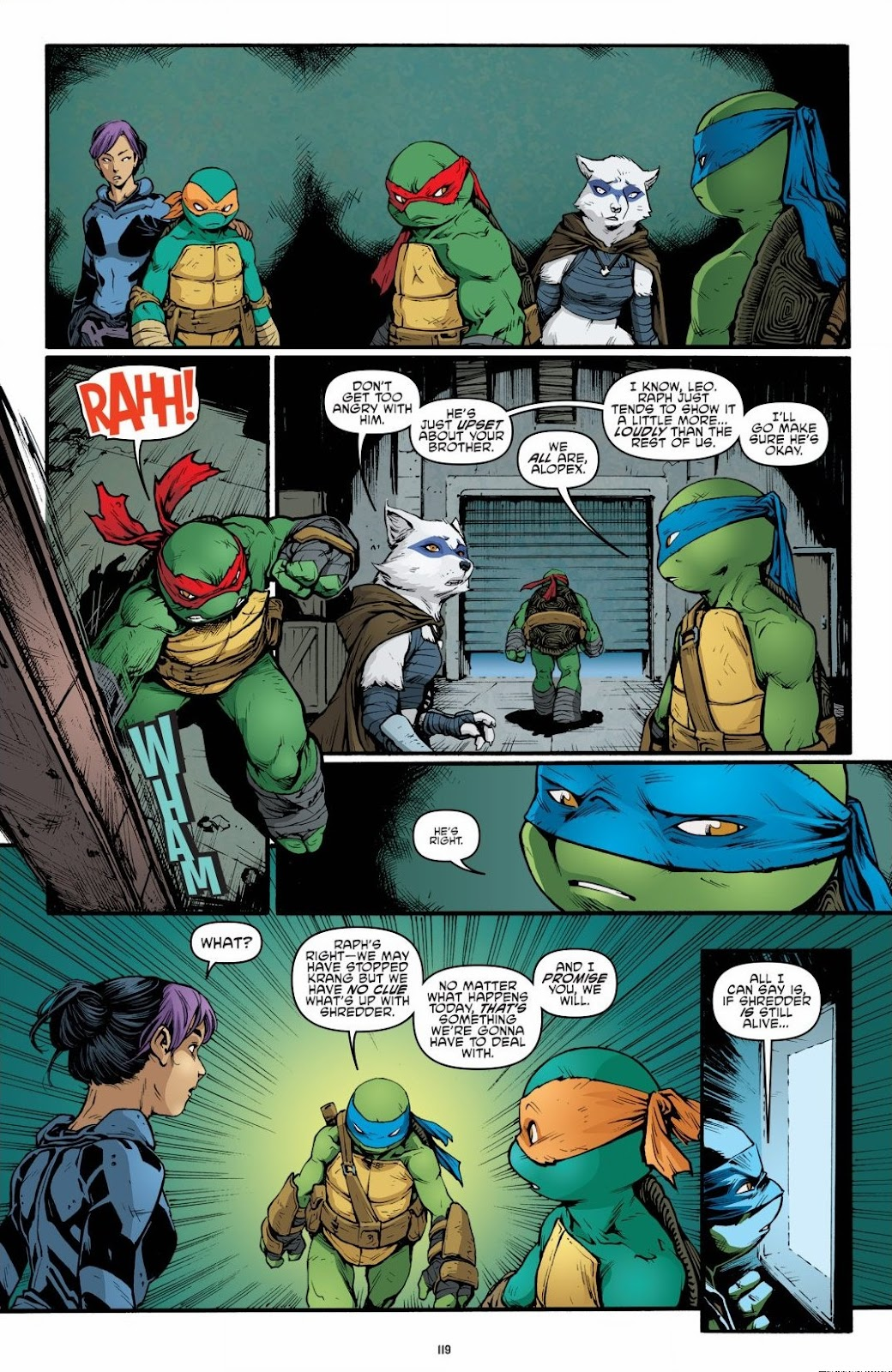 Read online Teenage Mutant Ninja Turtles: The IDW Collection comic -  Issue # TPB 6 (Part 2) - 18