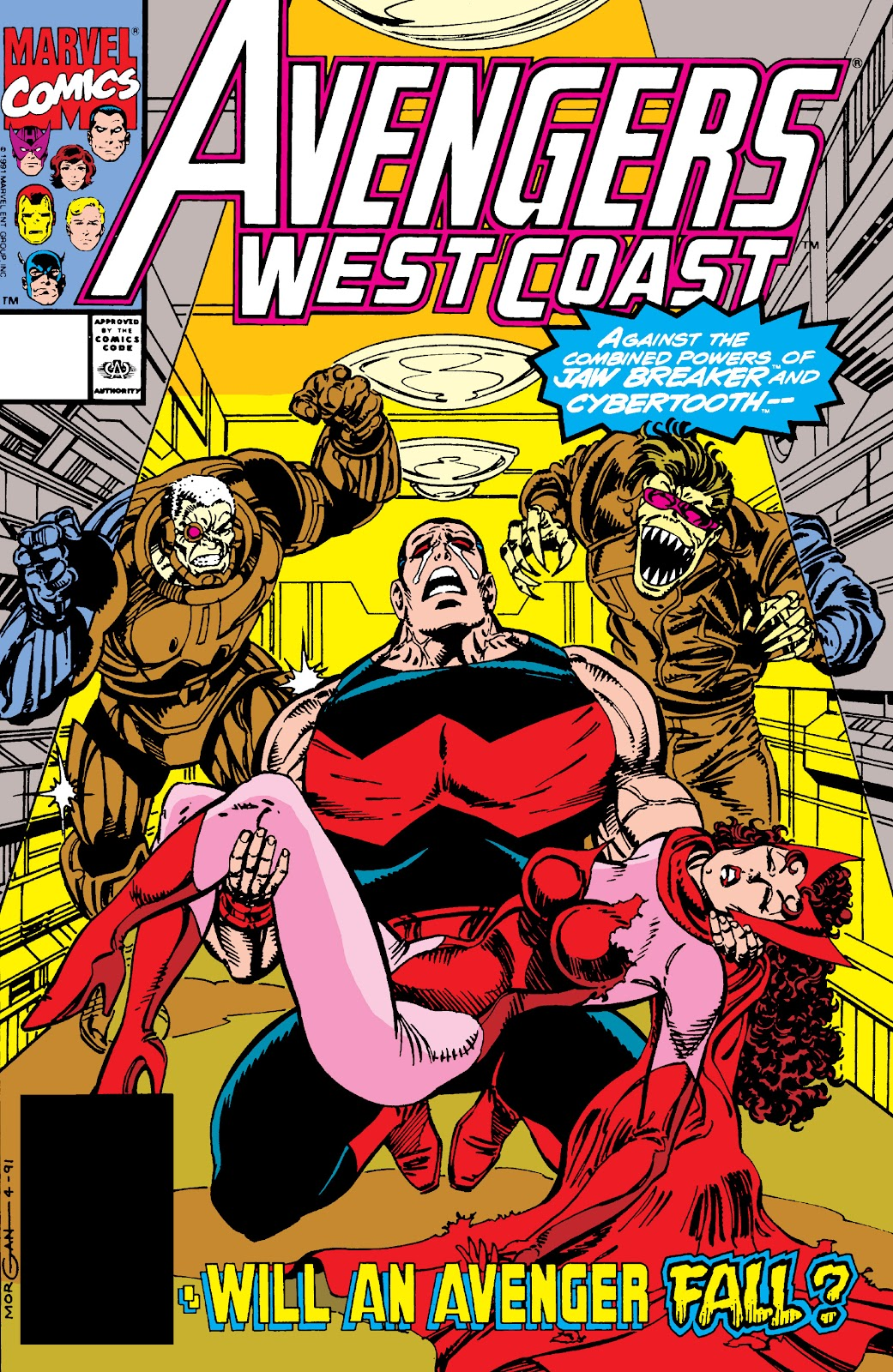 Avengers West Coast (1989) issue 73 - Page 1