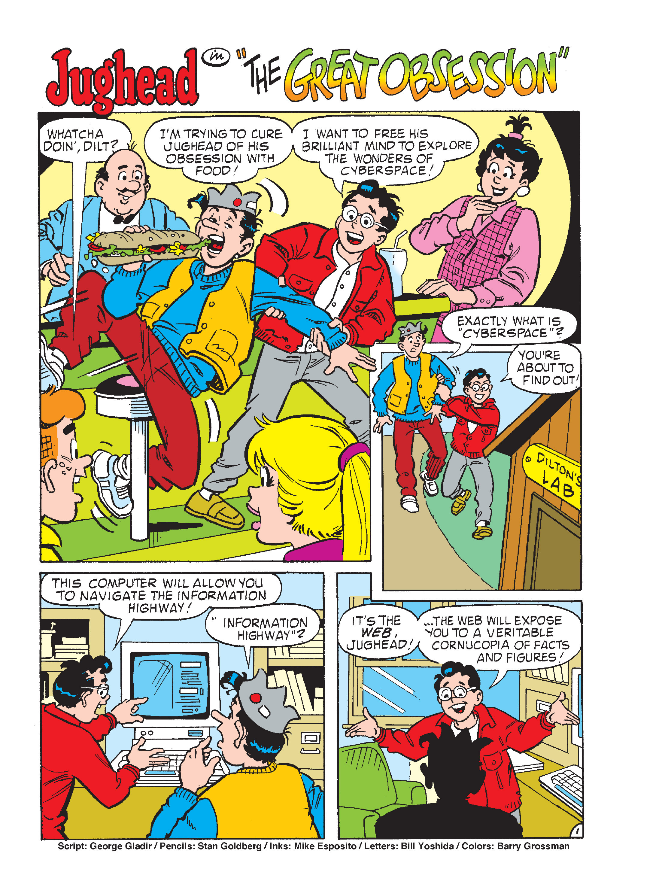 Read online Archie's Funhouse Double Digest comic -  Issue #17 - 138
