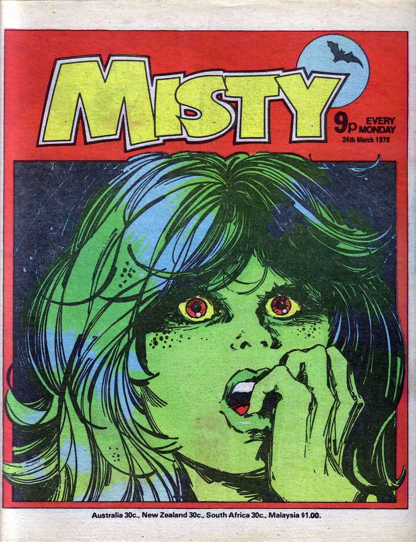 Read online Misty comic -  Issue #59 - 1