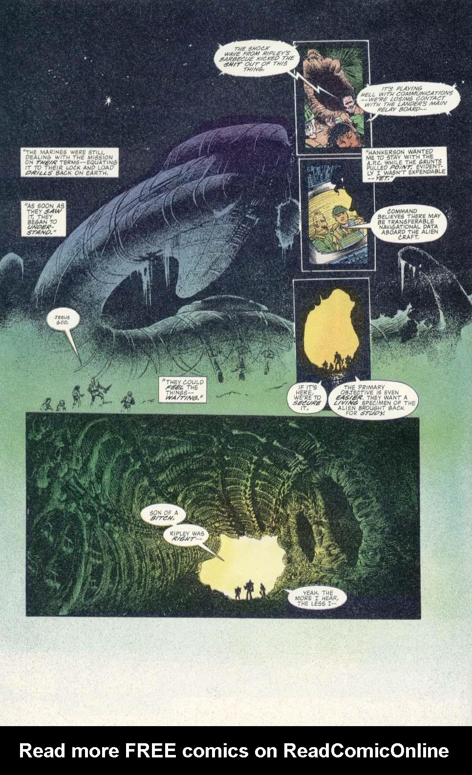 Read online Aliens: Earth War comic -  Issue #1 - 16