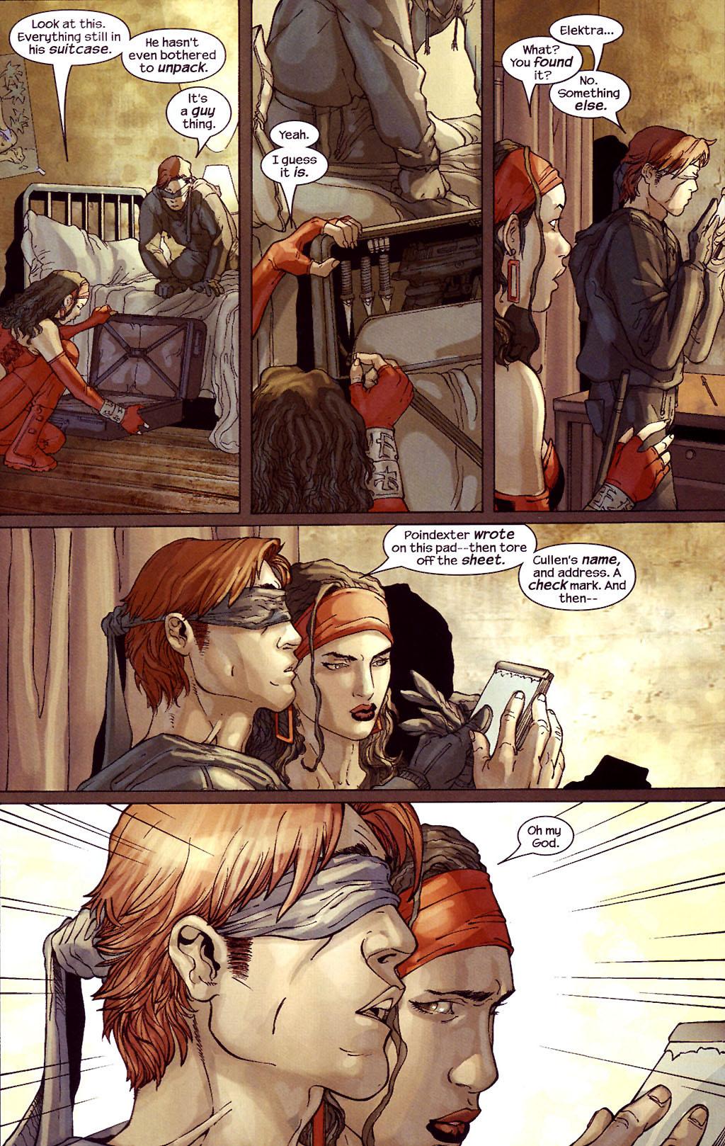 Read online Ultimate Elektra comic -  Issue #4 - 16