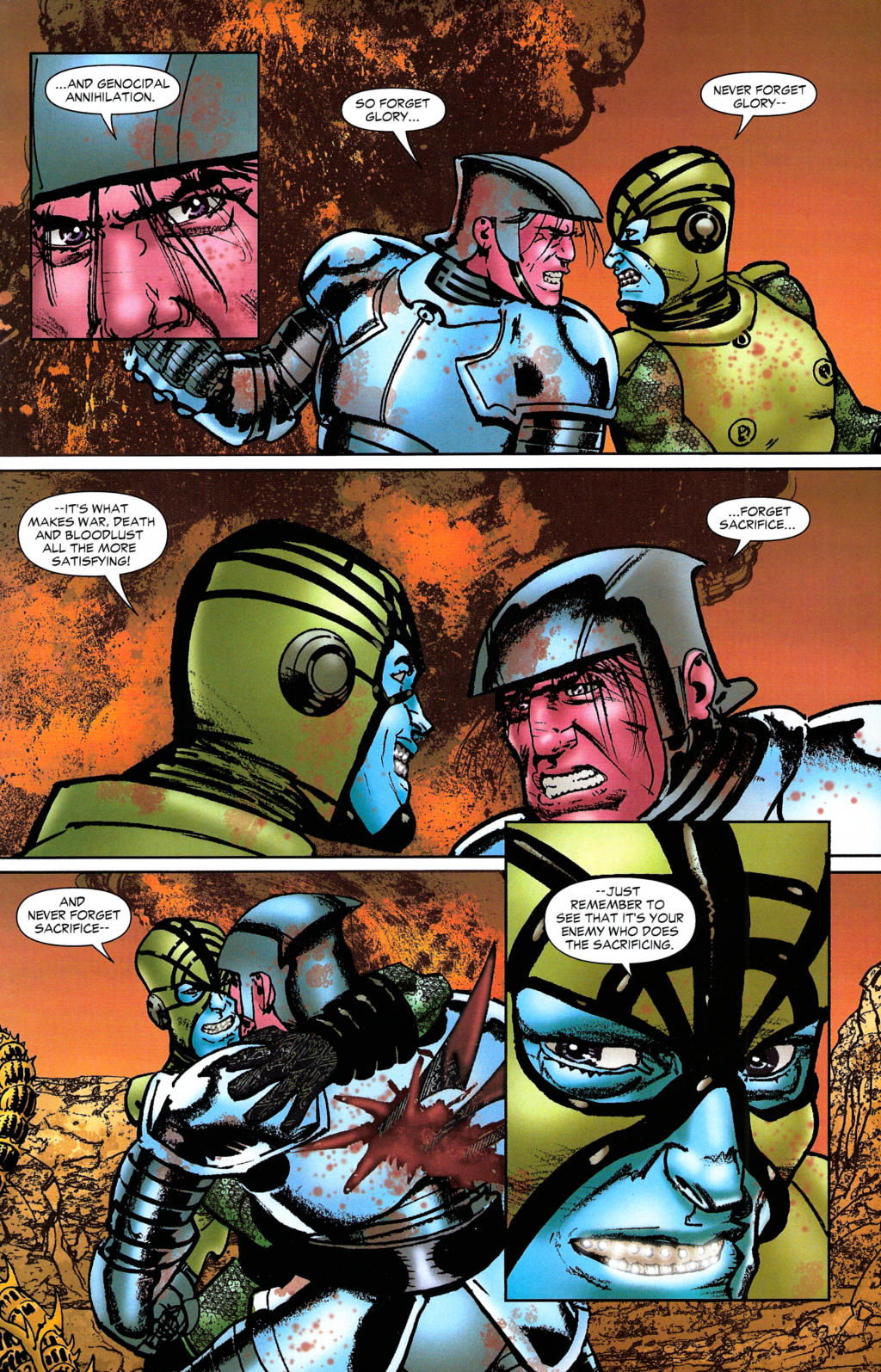 Read online Guy Gardner: Collateral Damage comic -  Issue #2 - 21