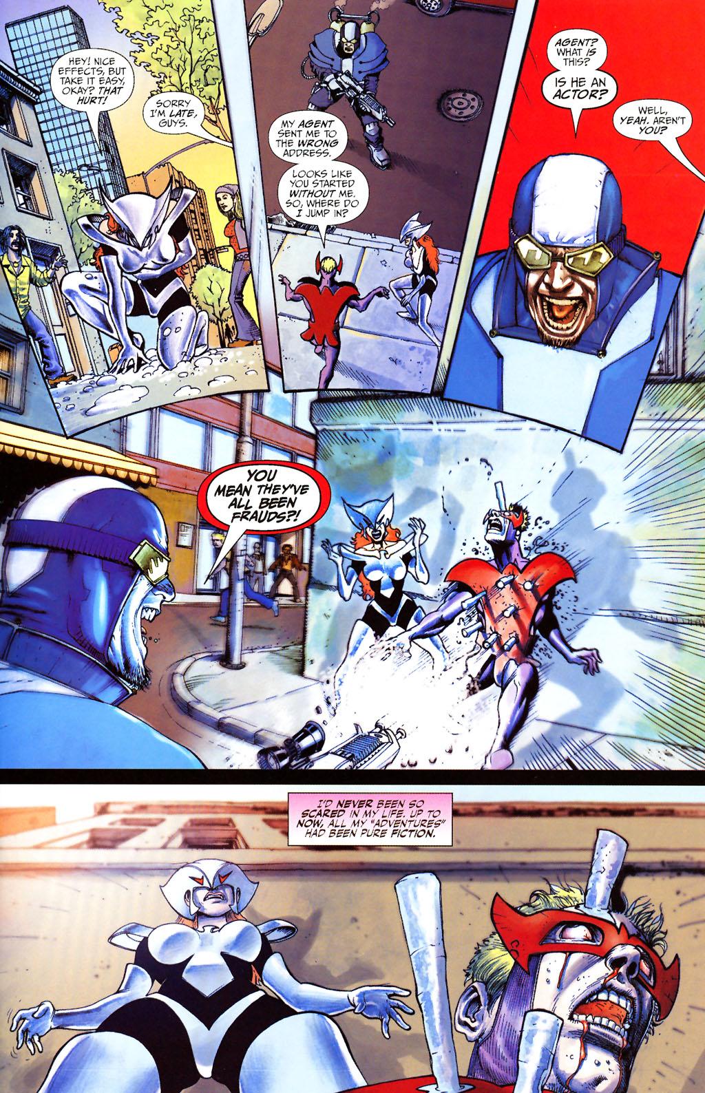 Read online ShadowHawk (2005) comic -  Issue #13 - 22