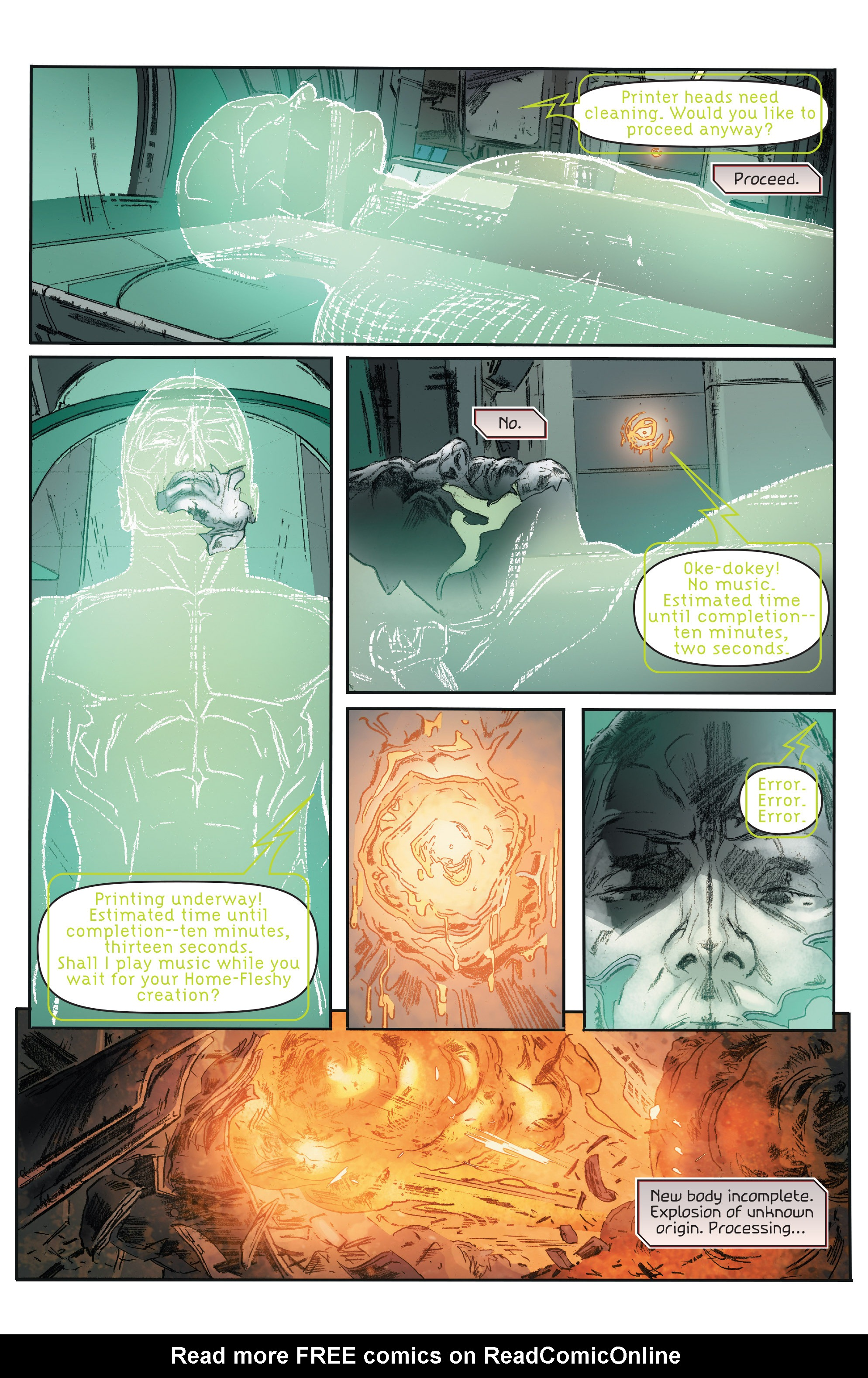Read online 4001 A.D.: Bloodshot comic -  Issue #4001 A.D.: Bloodshot Full - 7
