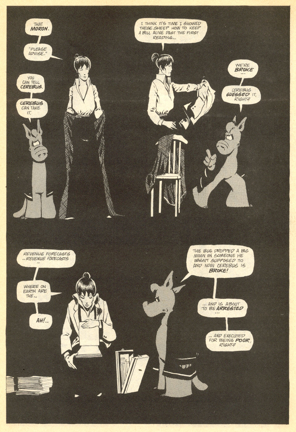 Cerebus Issue #33 #33 - English 20