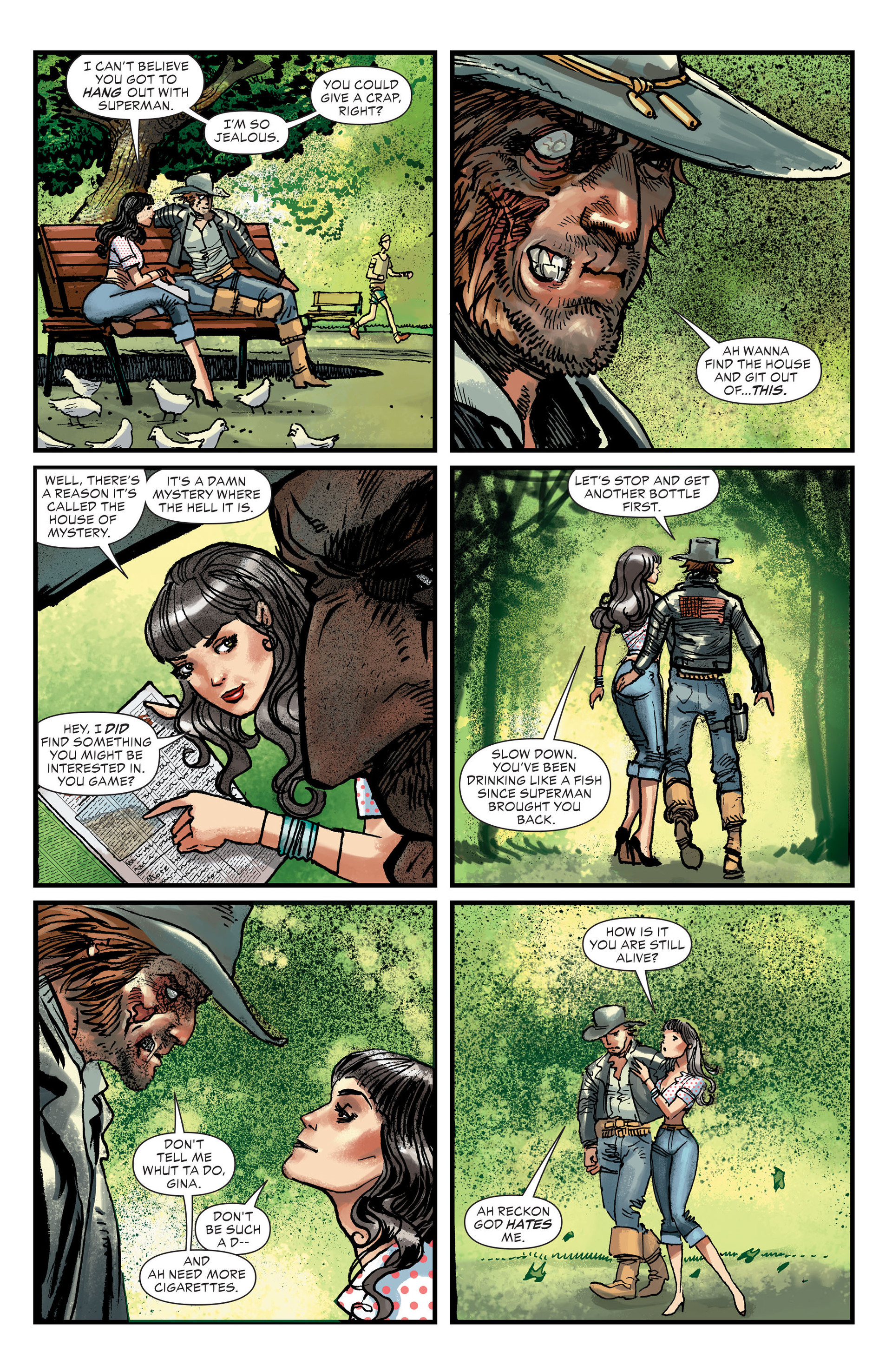 Read online All-Star Western (2011) comic -  Issue #27 - 9