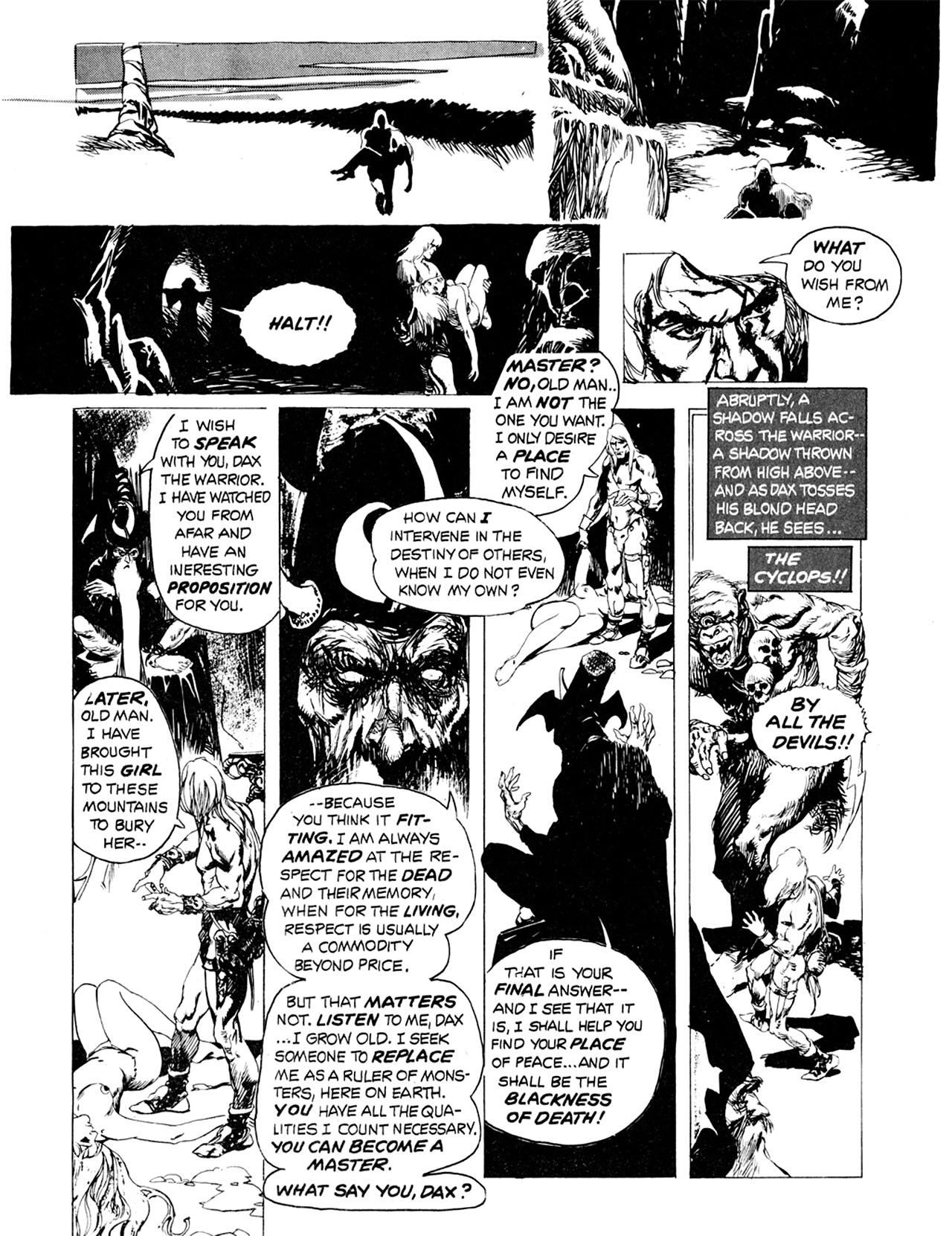 Read online Eerie Archives comic -  Issue # TPB 9 - 265