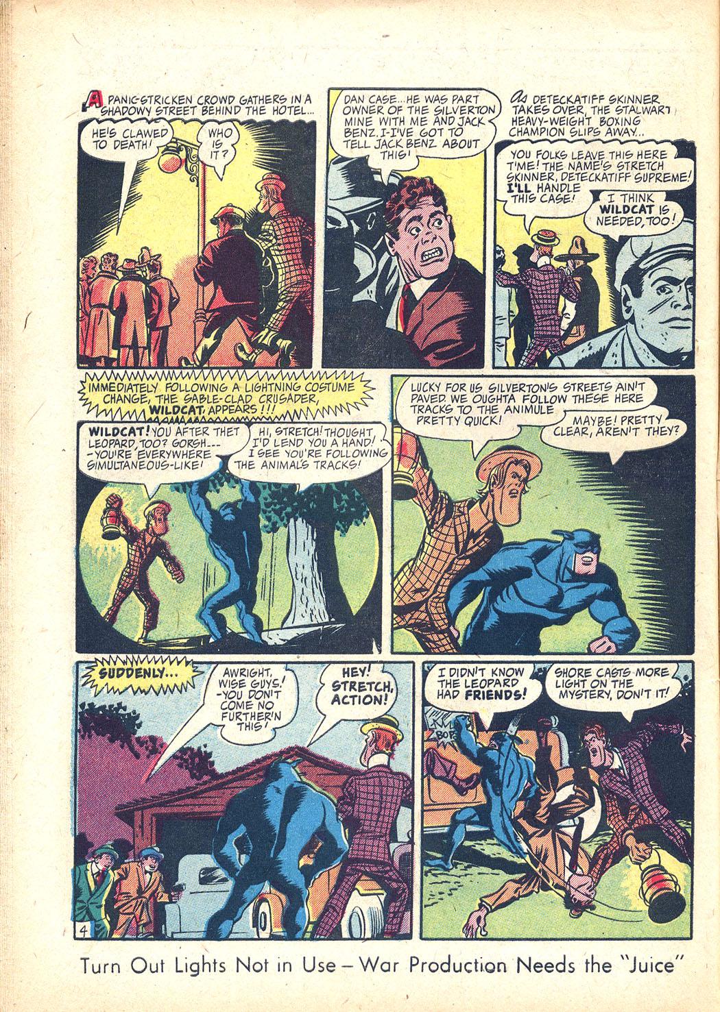 Read online Sensation (Mystery) Comics comic -  Issue #34 - 44