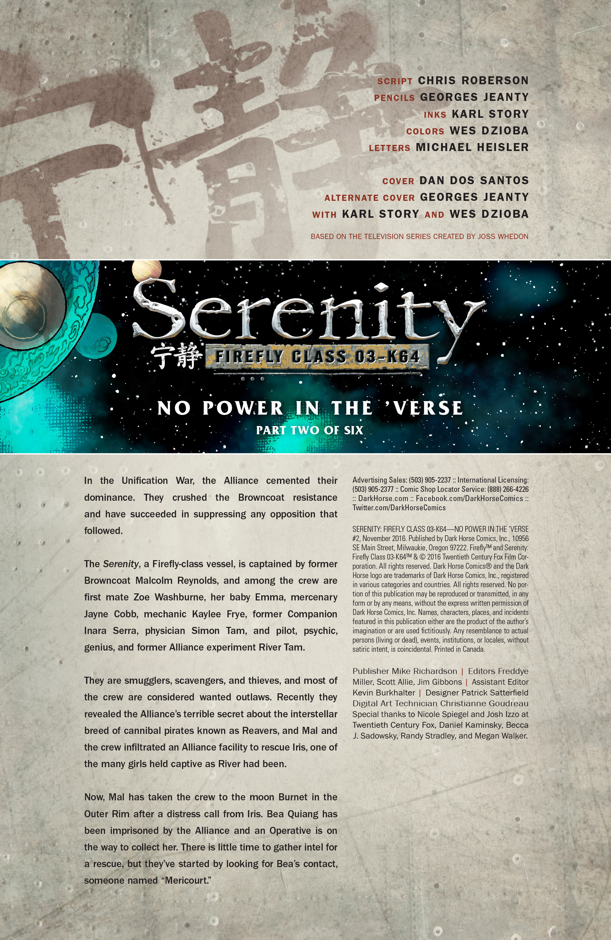 Read online Serenity: Firefly Class 03-K64 – No Power in the 'Verse comic -  Issue #2 - 3