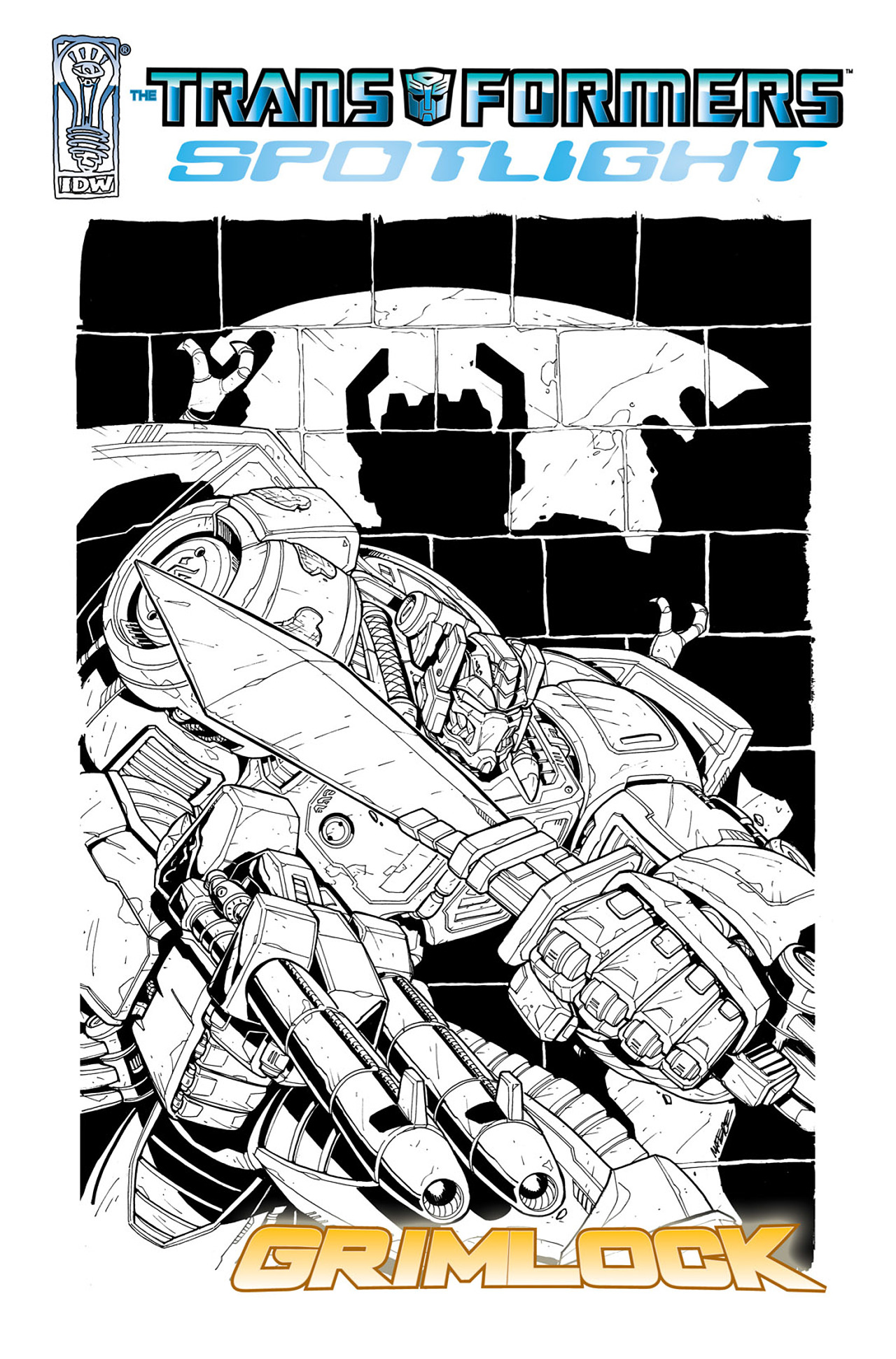 Read online Transformers Spotlight: Grimlock comic -  Issue # Full - 2