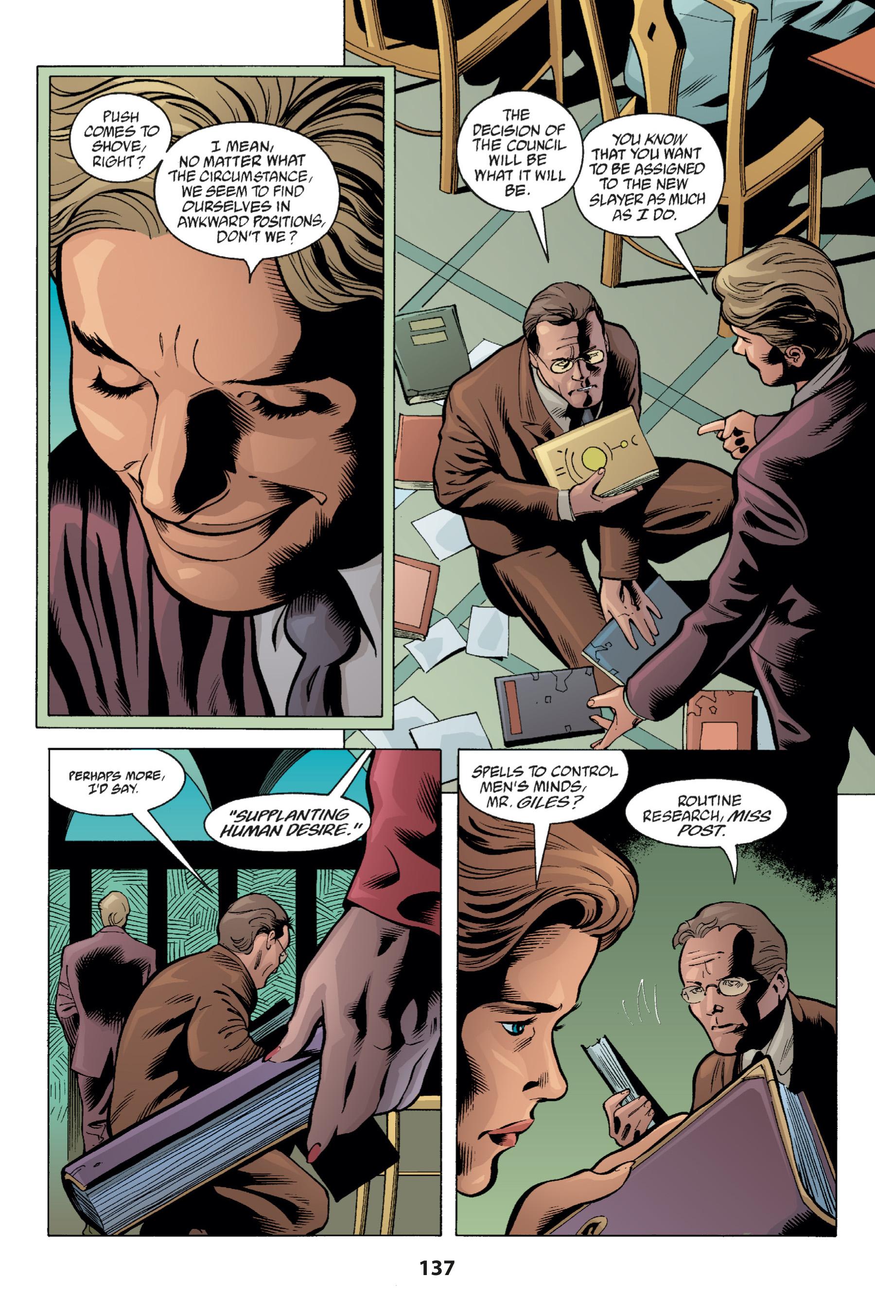 Read online Buffy the Vampire Slayer: Omnibus comic -  Issue # TPB 1 - 136