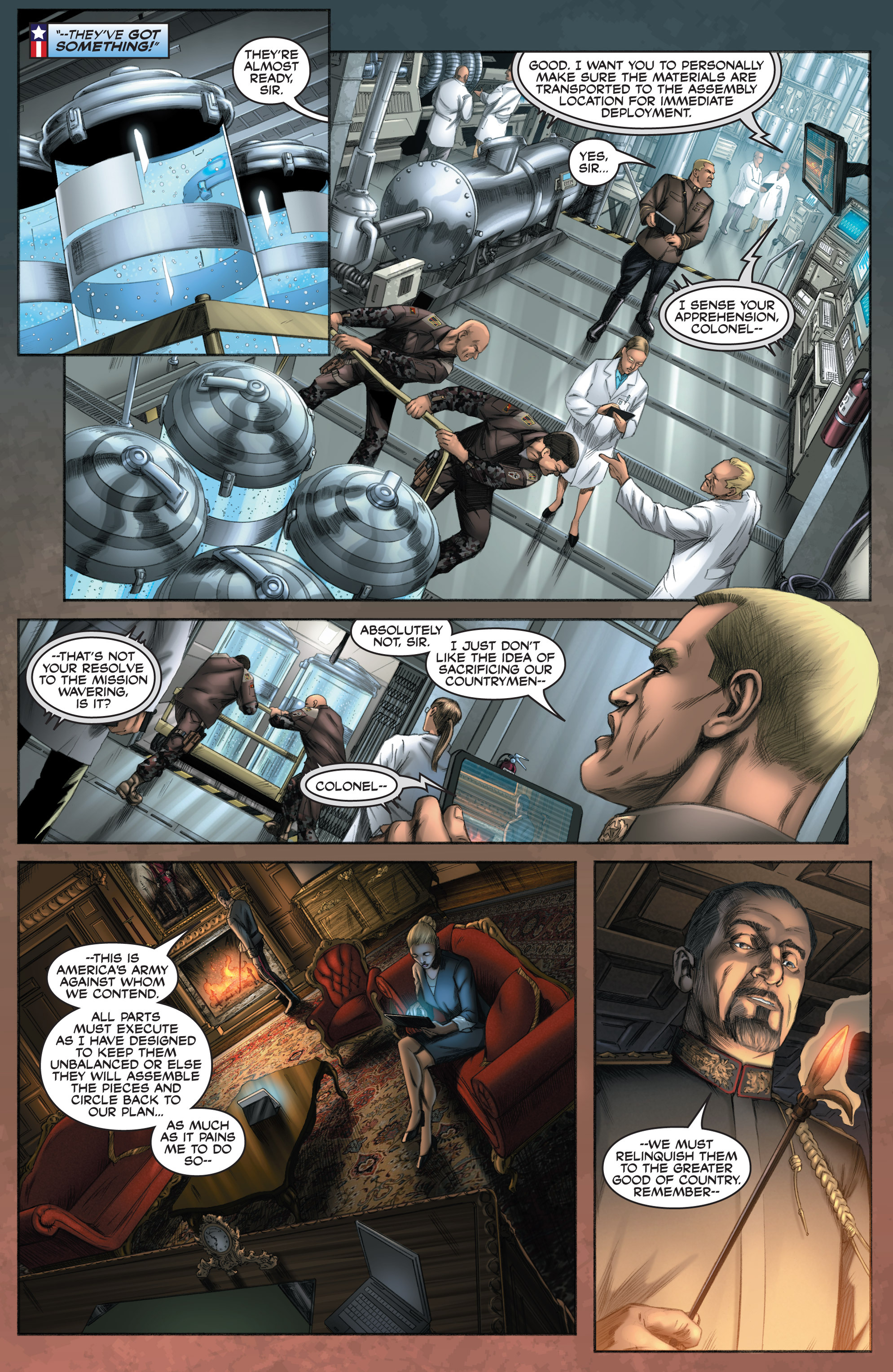 Read online America's Army comic -  Issue #8 - 10