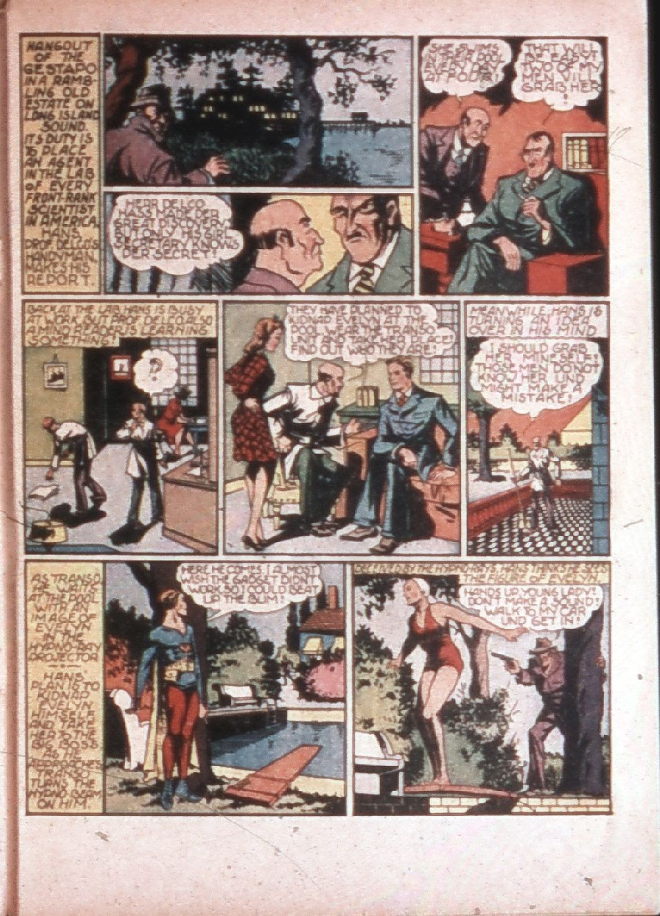 Read online Super-Magician Comics comic -  Issue #4 - 56