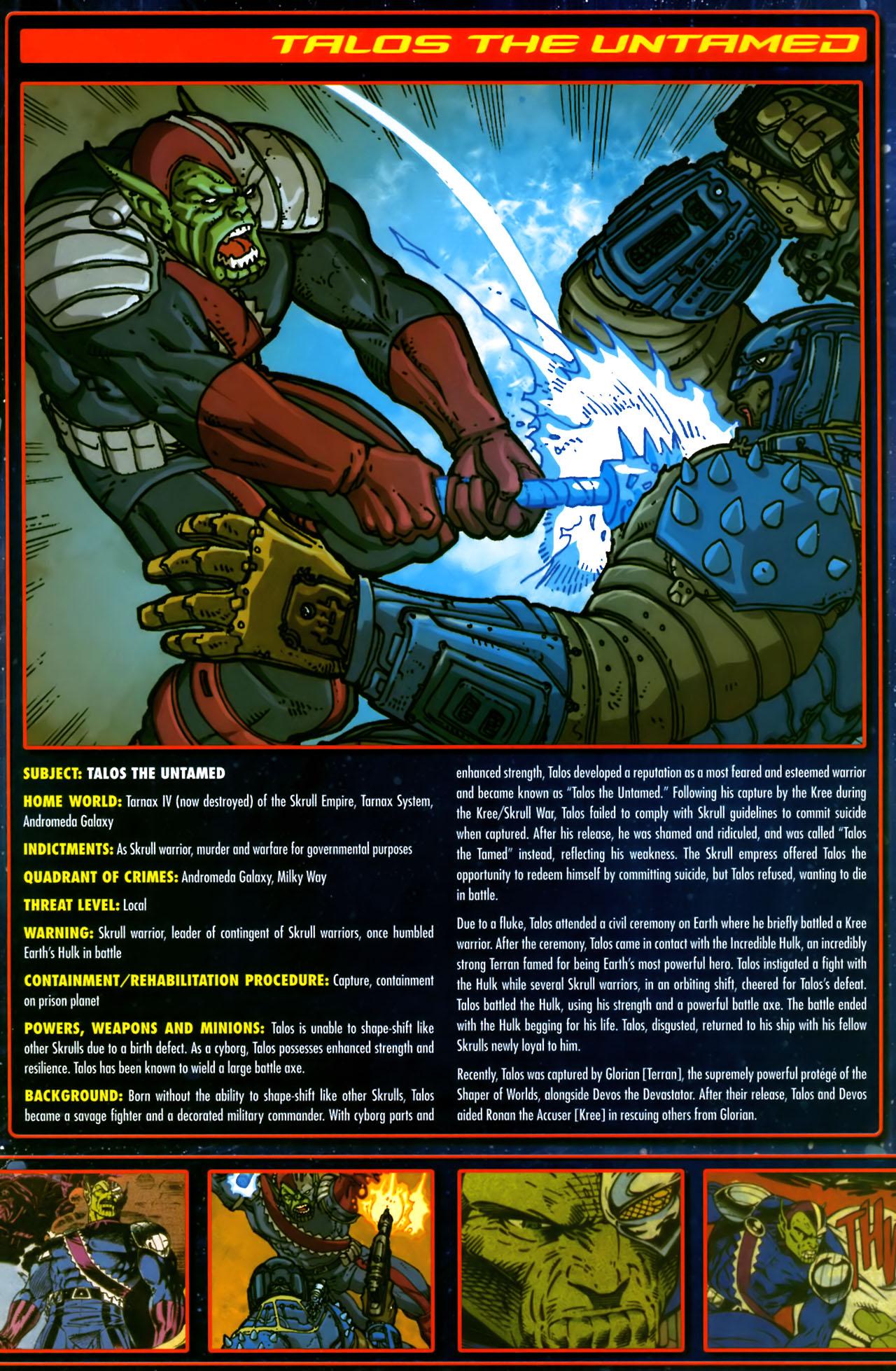 Read online Annihilation:  The  Nova Corps Files comic -  Issue #Annihilation:  The  Nova Corps Files Full - 42