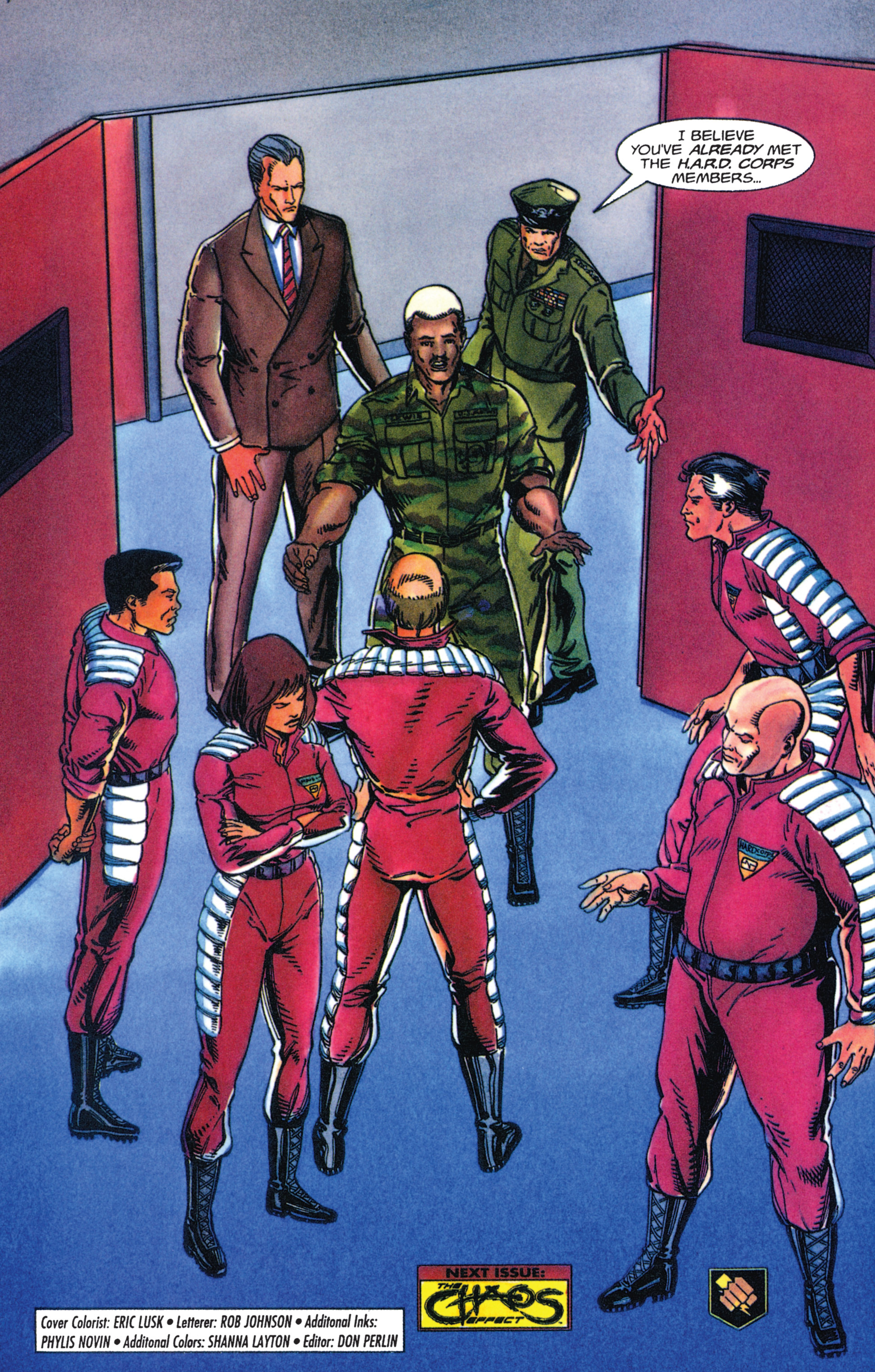 Read online Armorines comic -  Issue #4 - 22