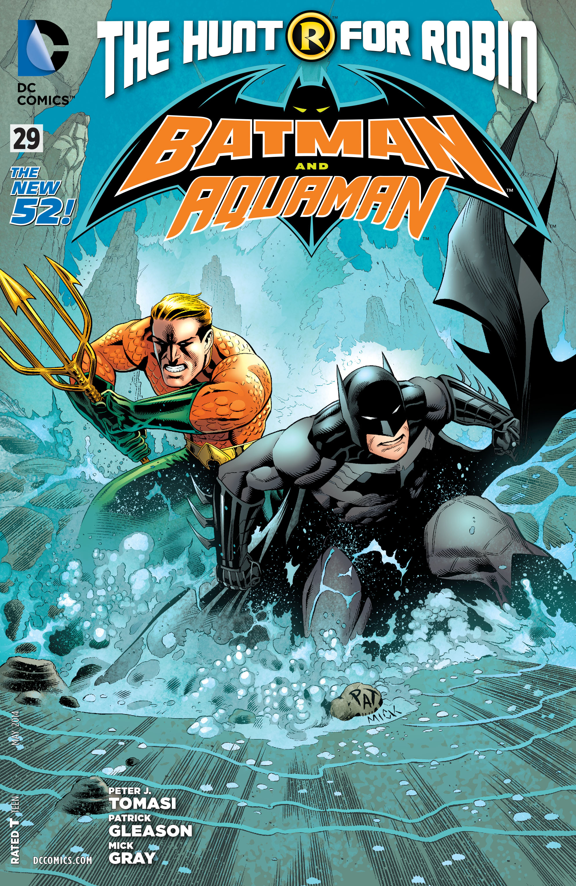Read online Batman and Robin (2011) comic -  Issue #29 - Batman and Aquaman - 1