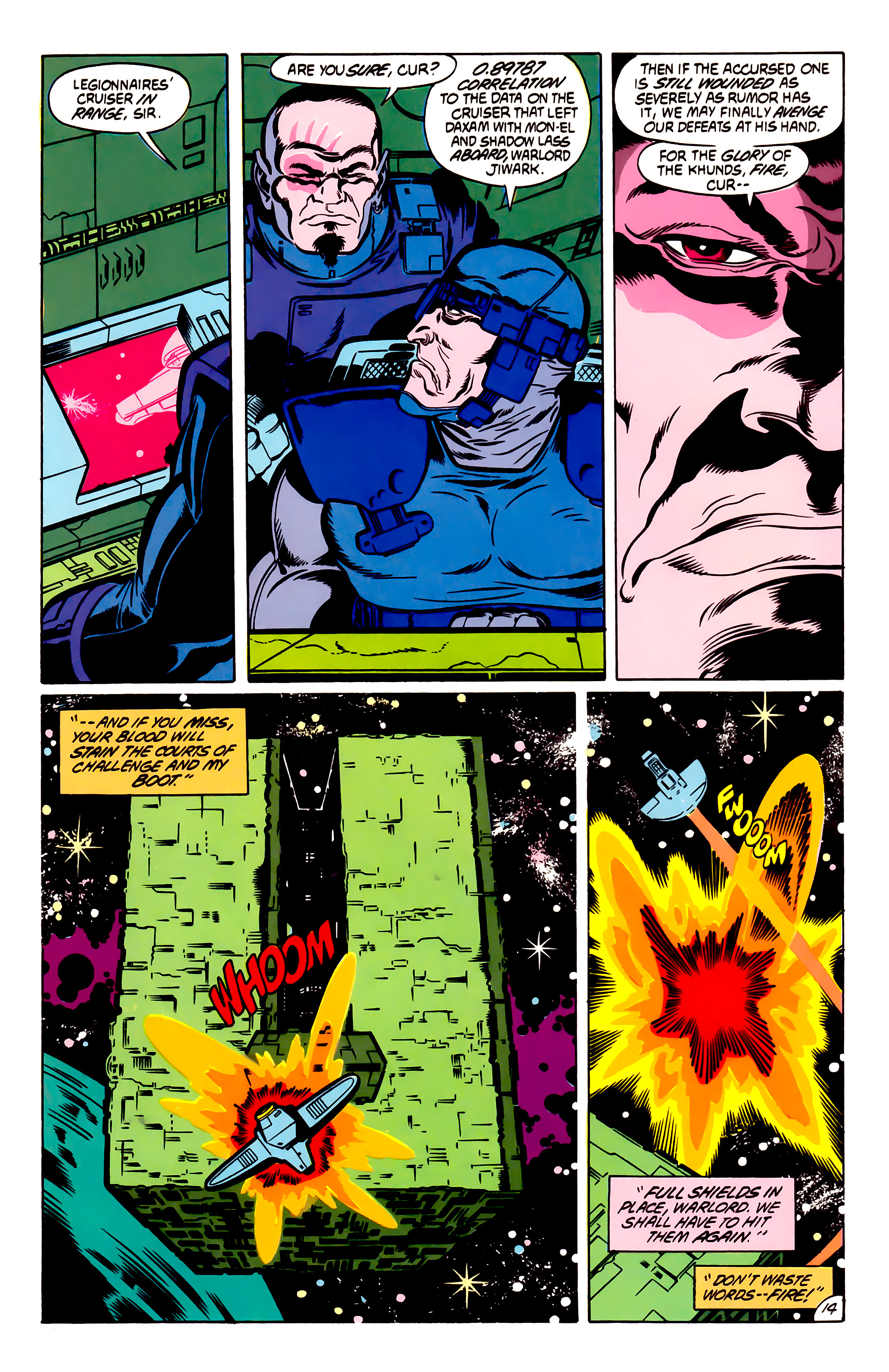 Legion of Super-Heroes (1984) 53 Page 14