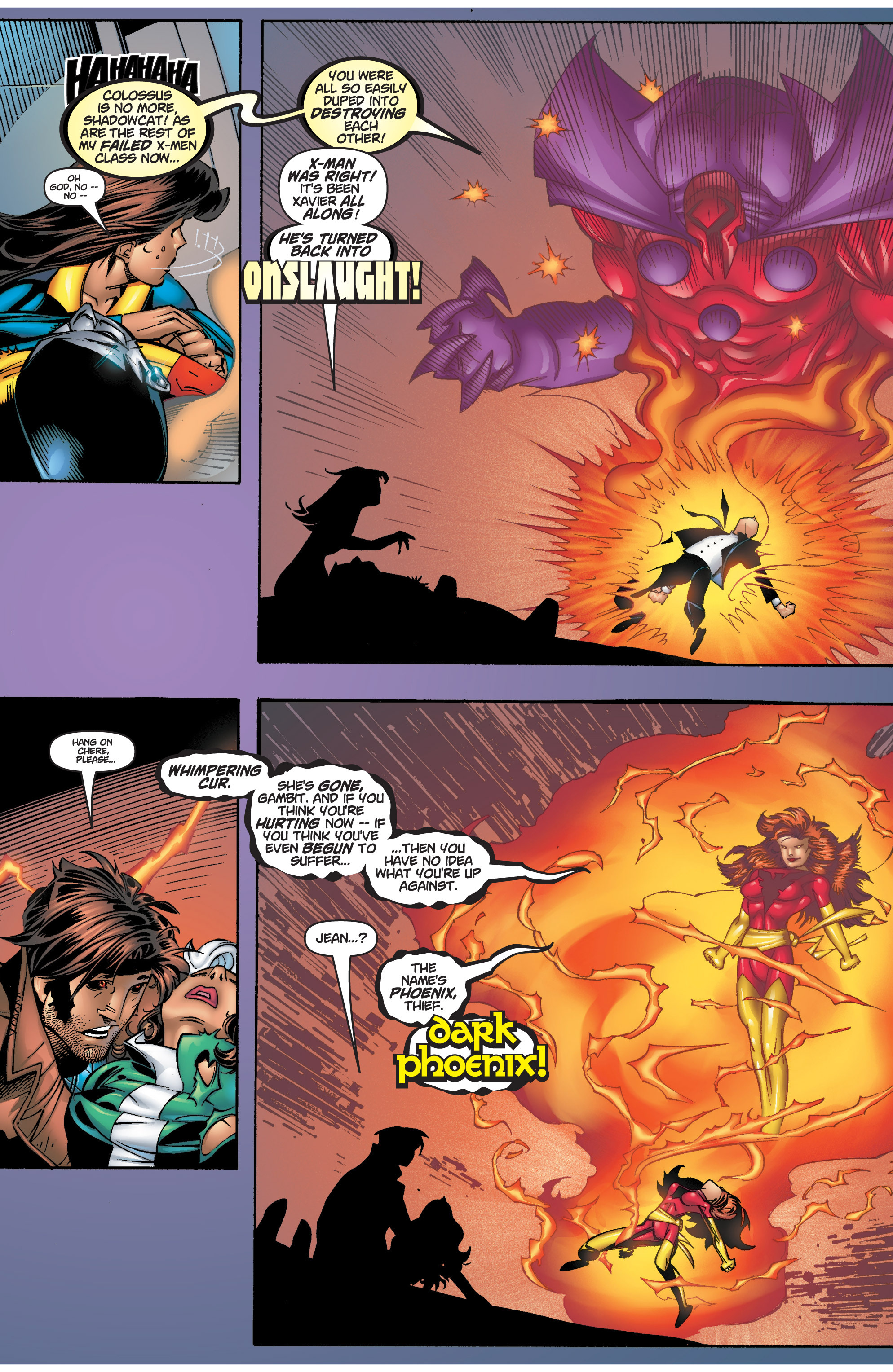 Read online Uncanny X-Men (1963) comic -  Issue #375 - 26