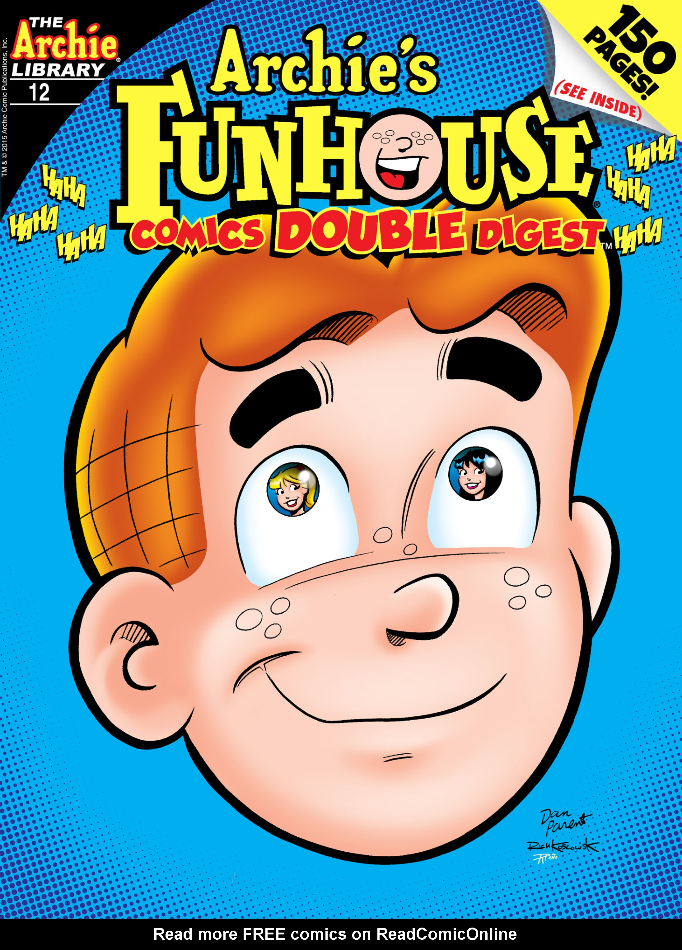 Read online Archie's Funhouse Double Digest comic -  Issue #12 - 1