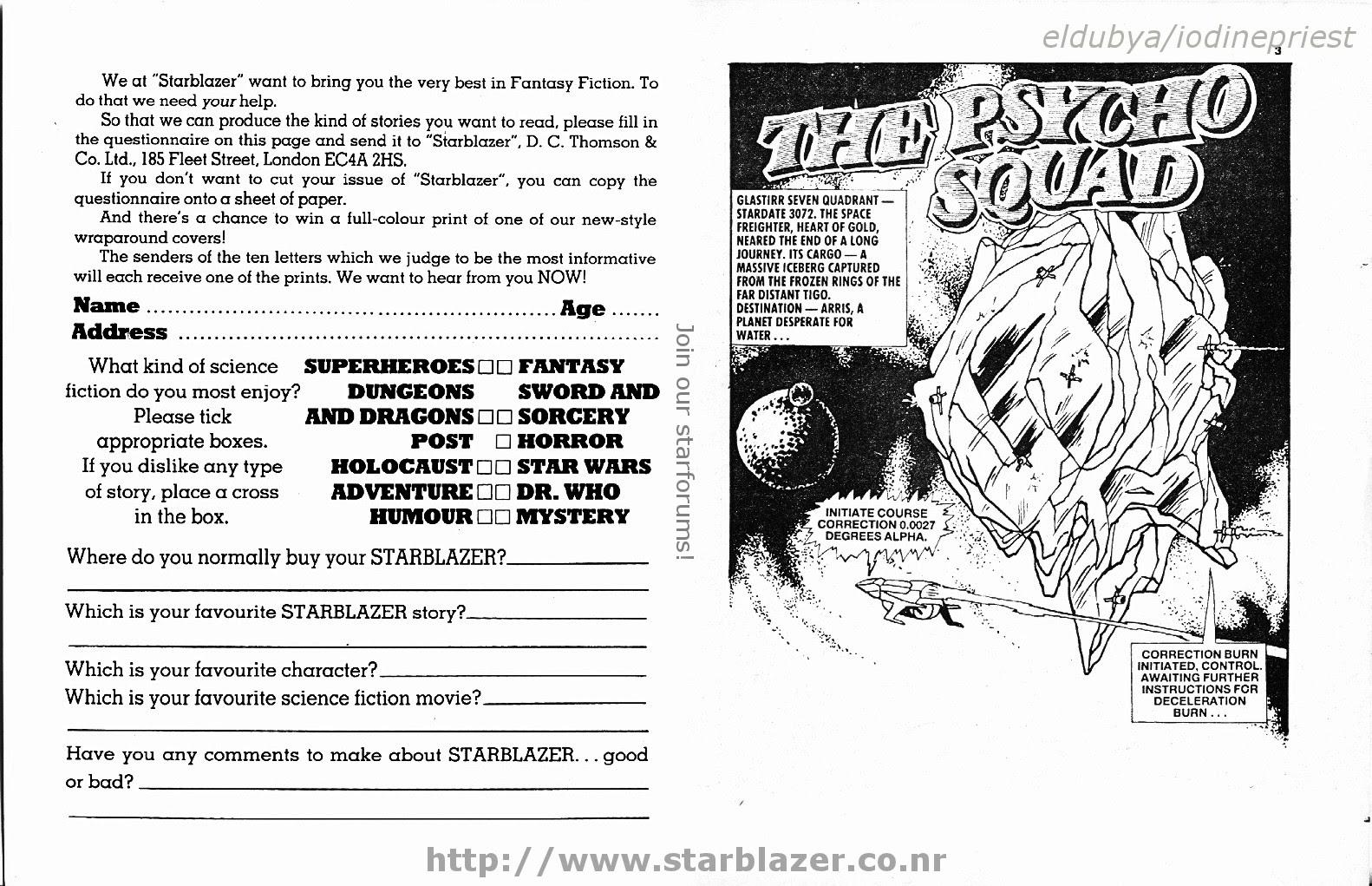Starblazer issue 242 - Page 3