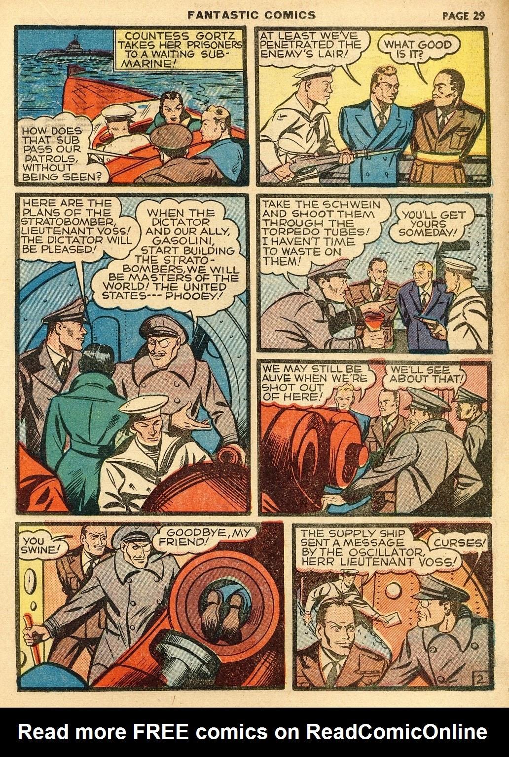 Read online Fantastic Comics comic -  Issue #10 - 30