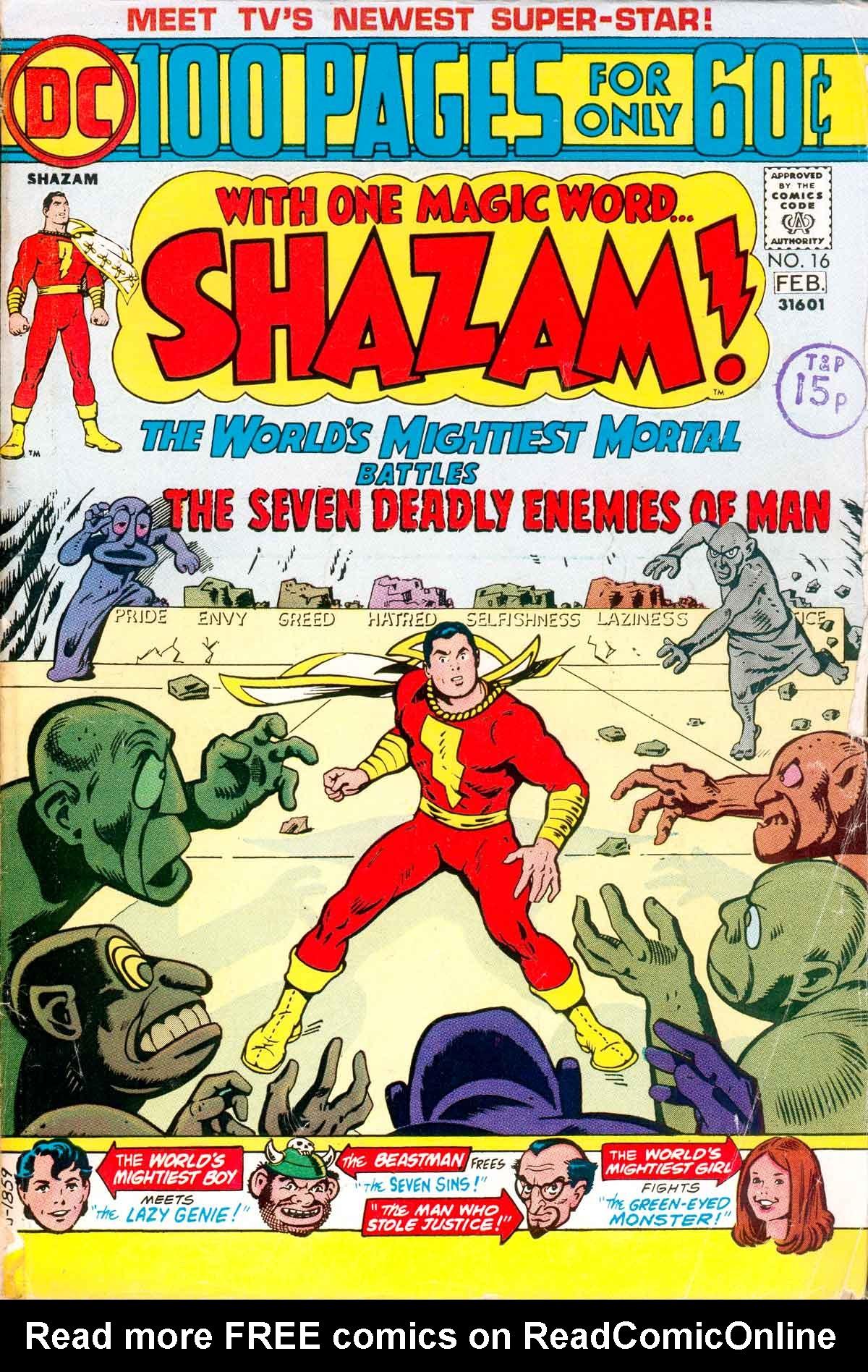 Read online Shazam! (1973) comic -  Issue #16 - 1