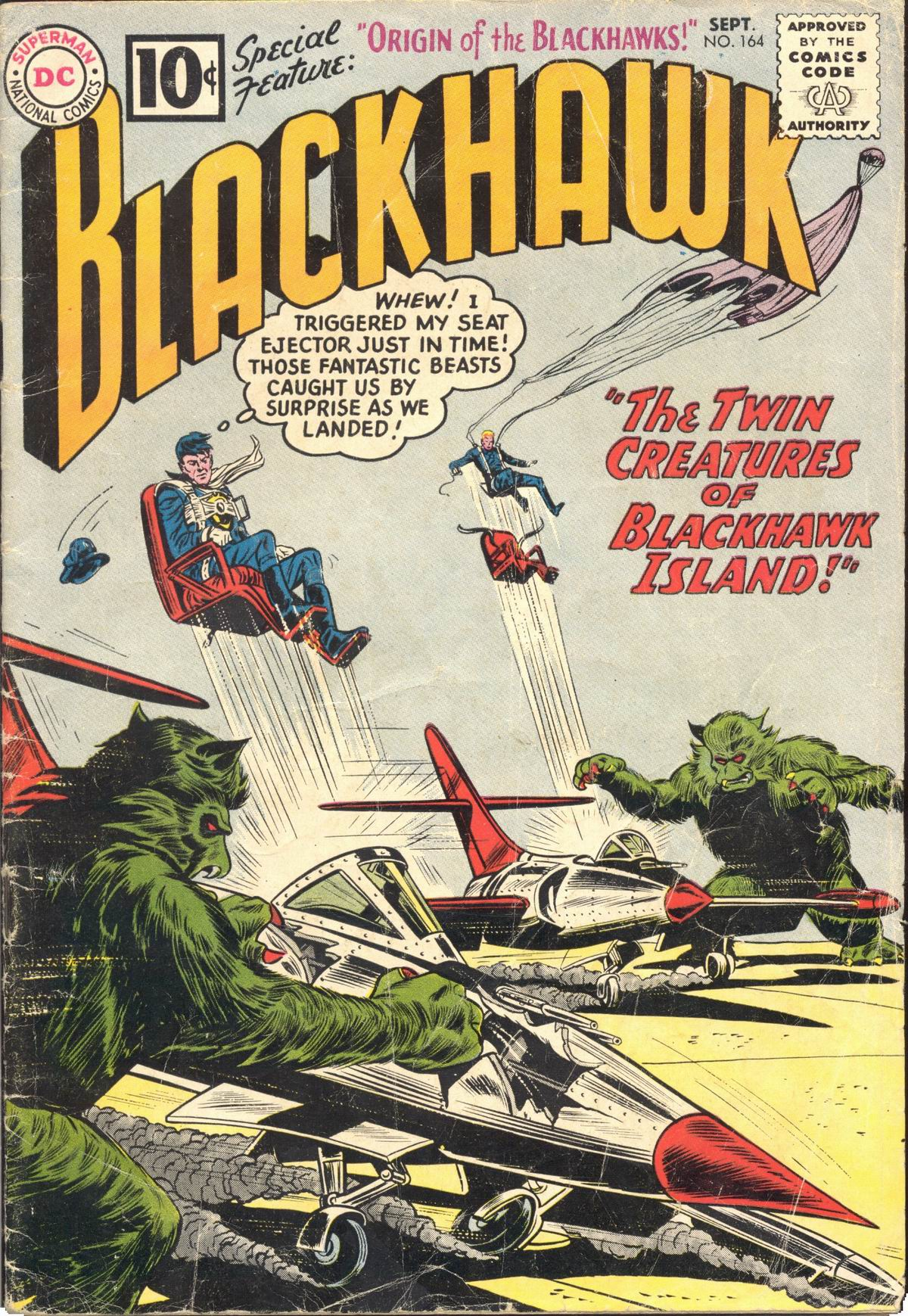 Blackhawk (1957) 164 Page 1