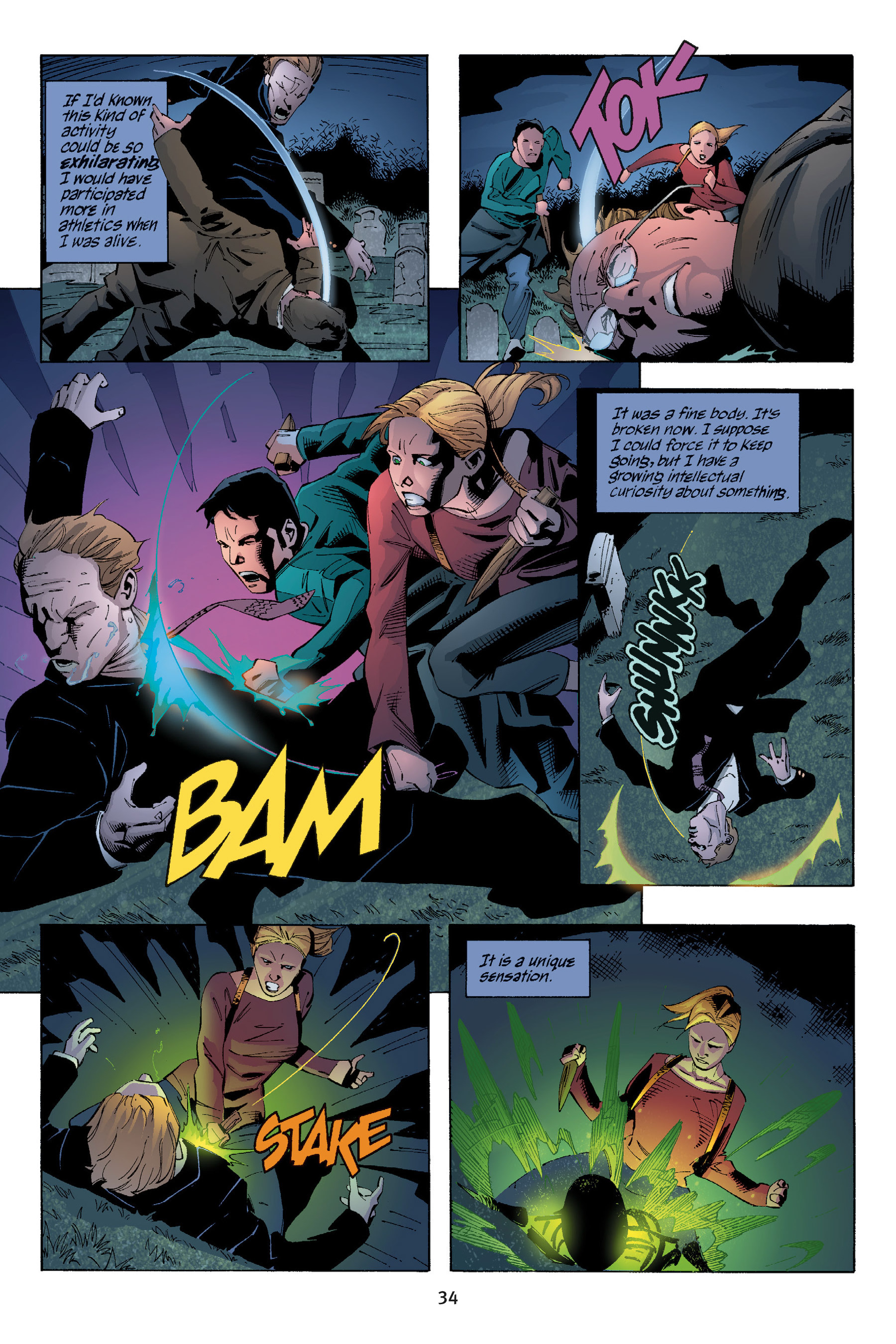 Read online Buffy the Vampire Slayer: Omnibus comic -  Issue # TPB 5 - 35