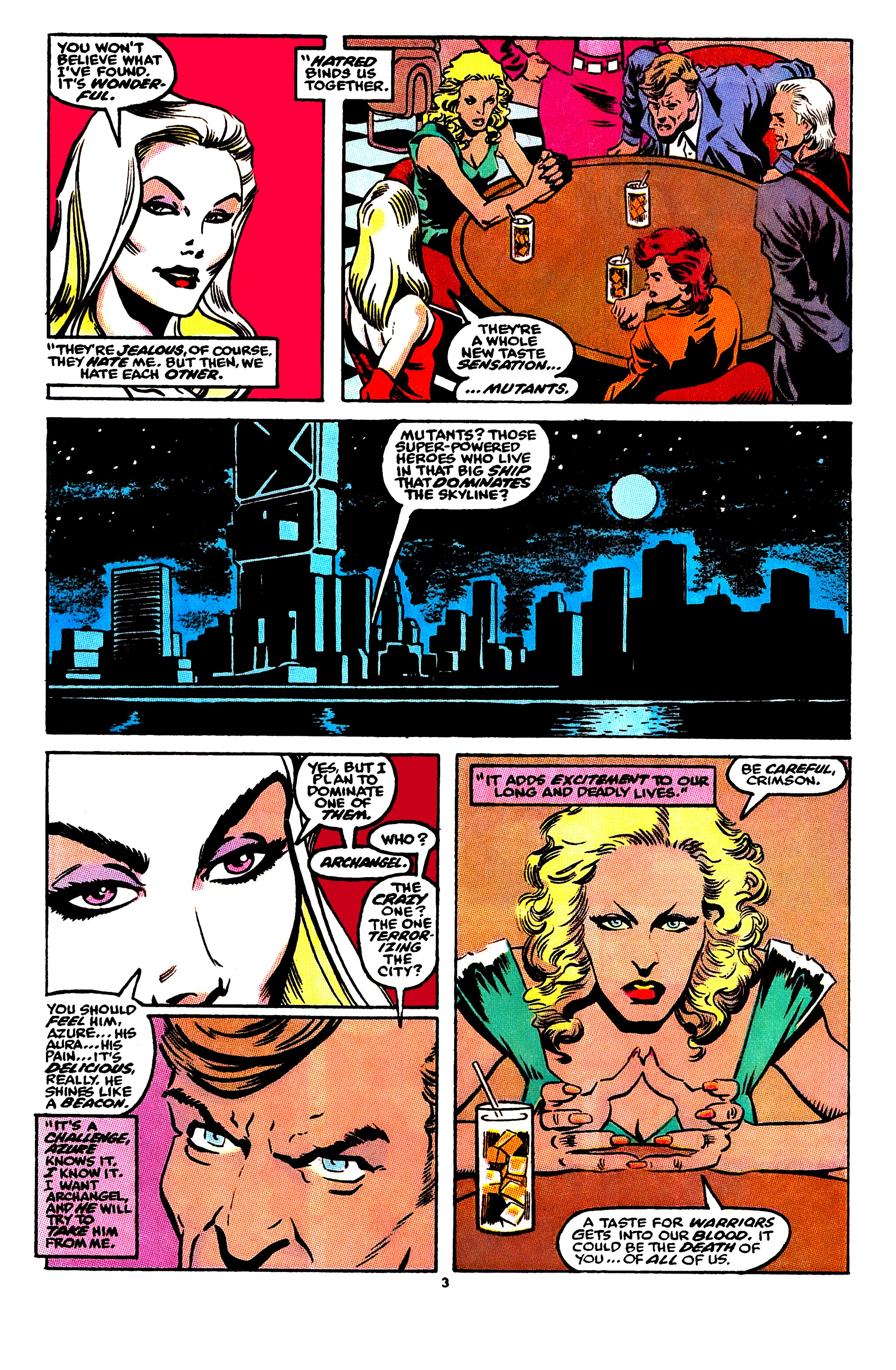 Read online X-Factor (1986) comic -  Issue #56 - 4