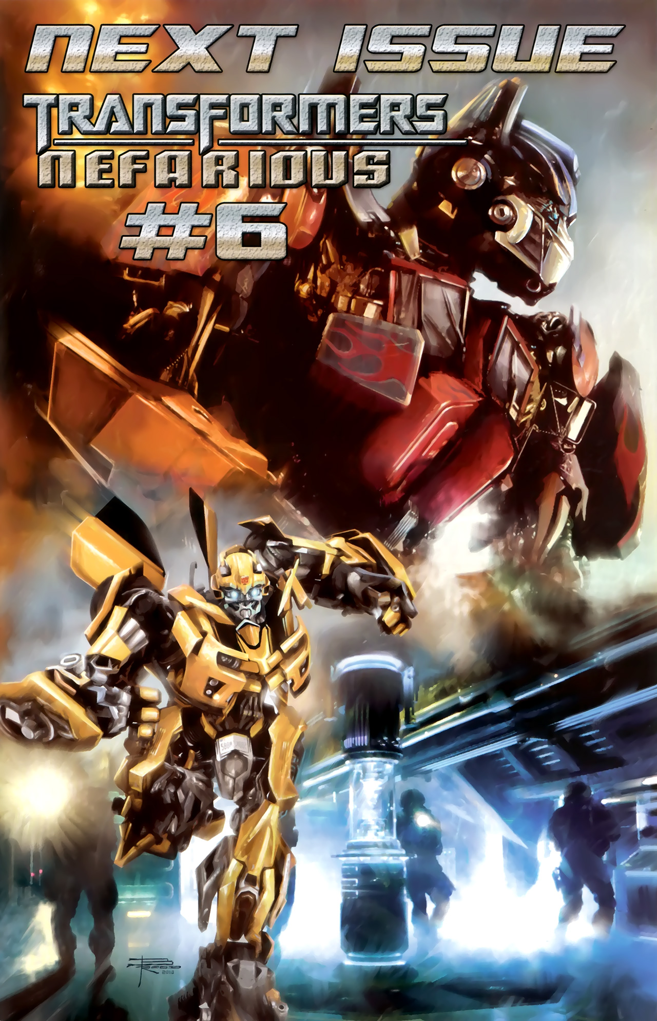 Read online Transformers: Nefarious comic -  Issue #5 - 26