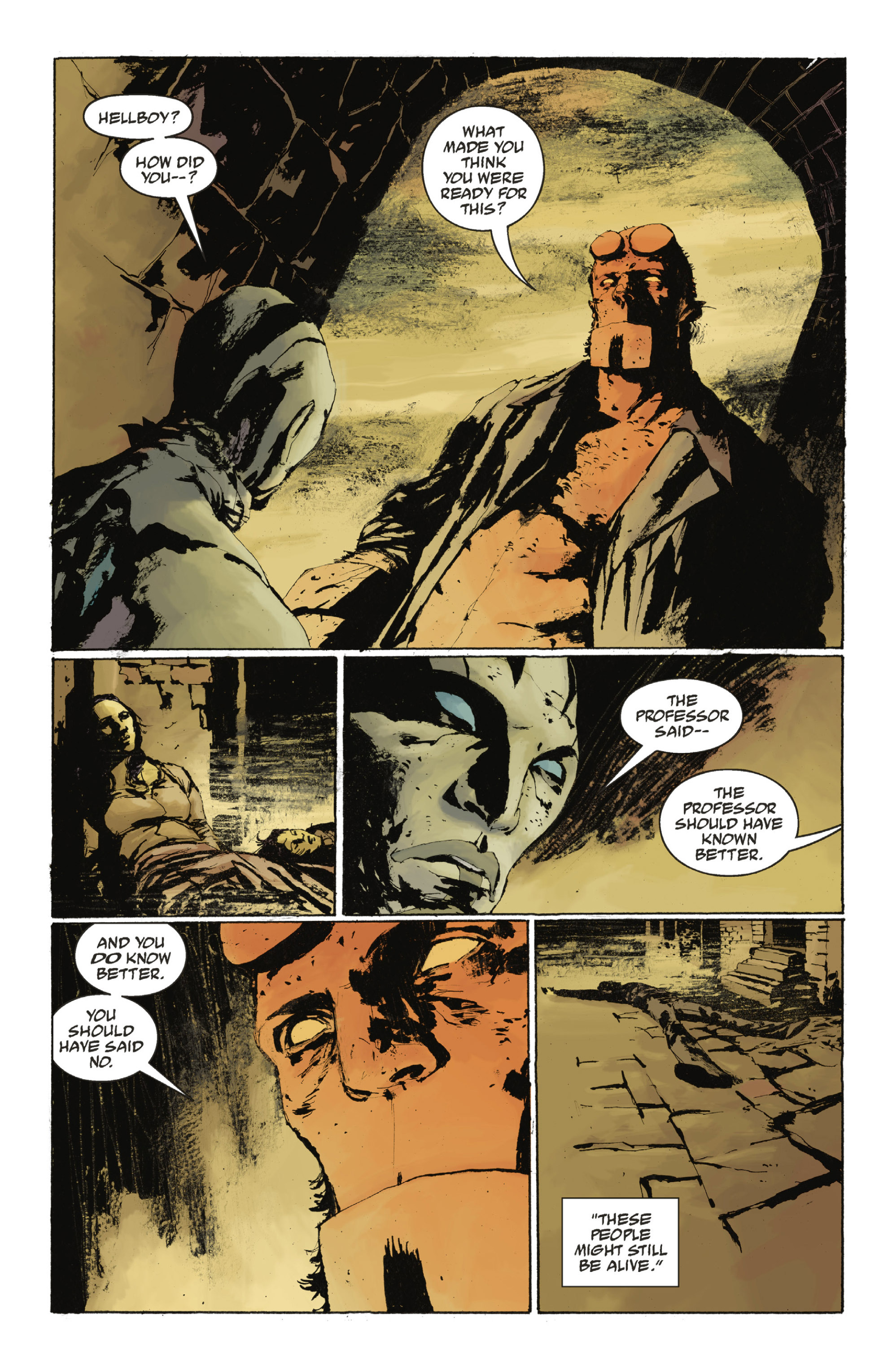 Read online Abe Sapien: The Drowning comic -  Issue #Abe Sapien: The Drowning _TPB - 52