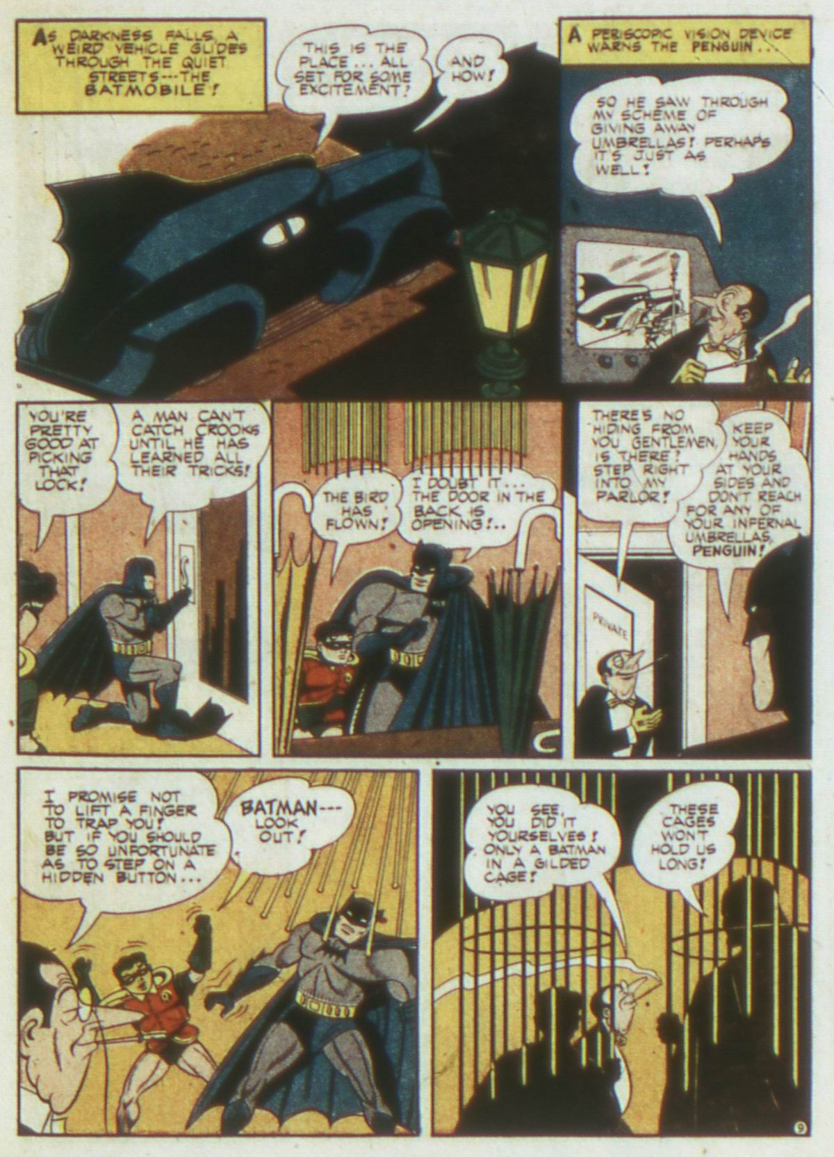 Read online Detective Comics (1937) comic -  Issue #87 - 11
